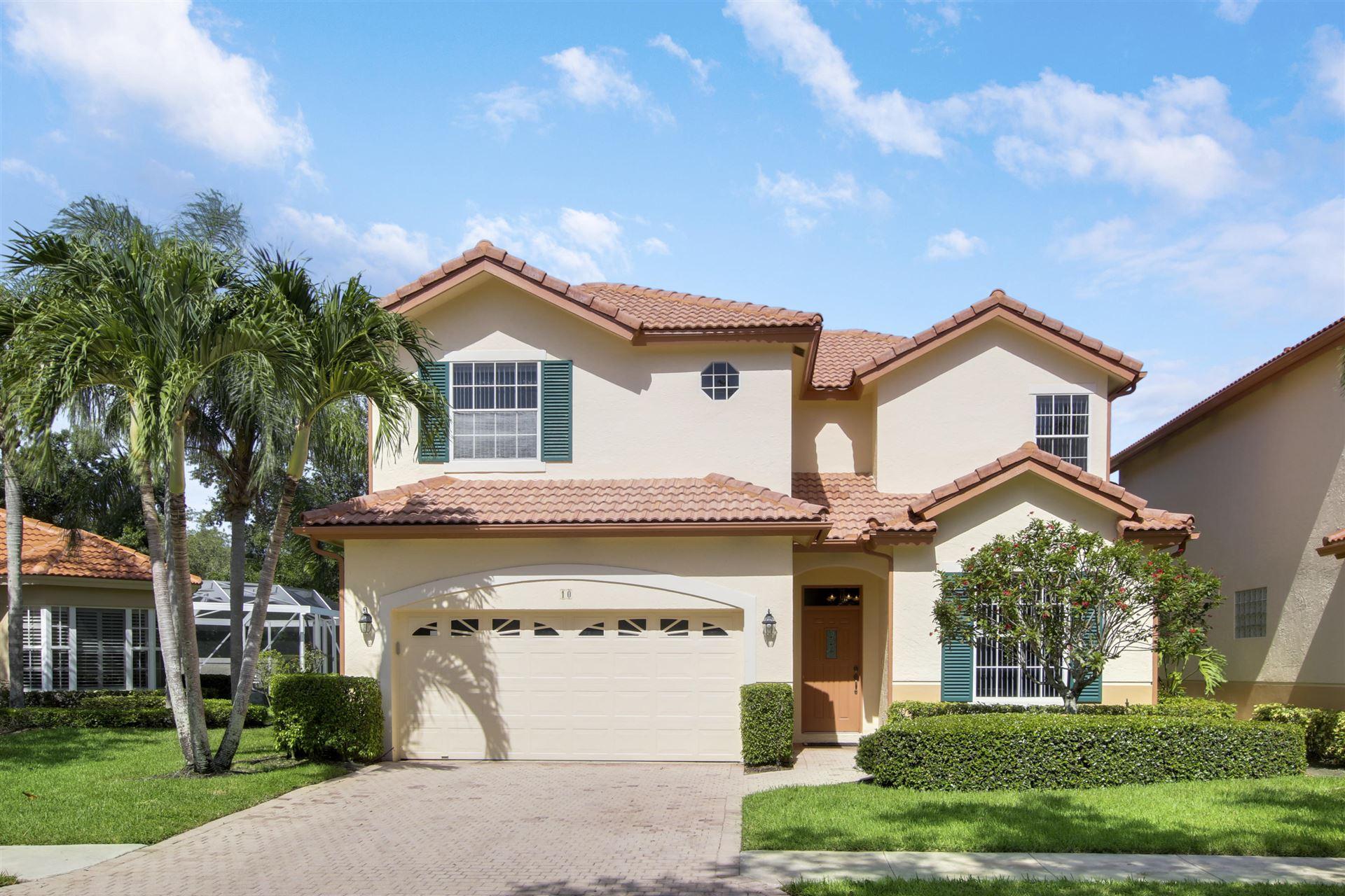 10 Porta Vista Circle, Palm Beach Gardens, FL 33418 - #: RX-10635565