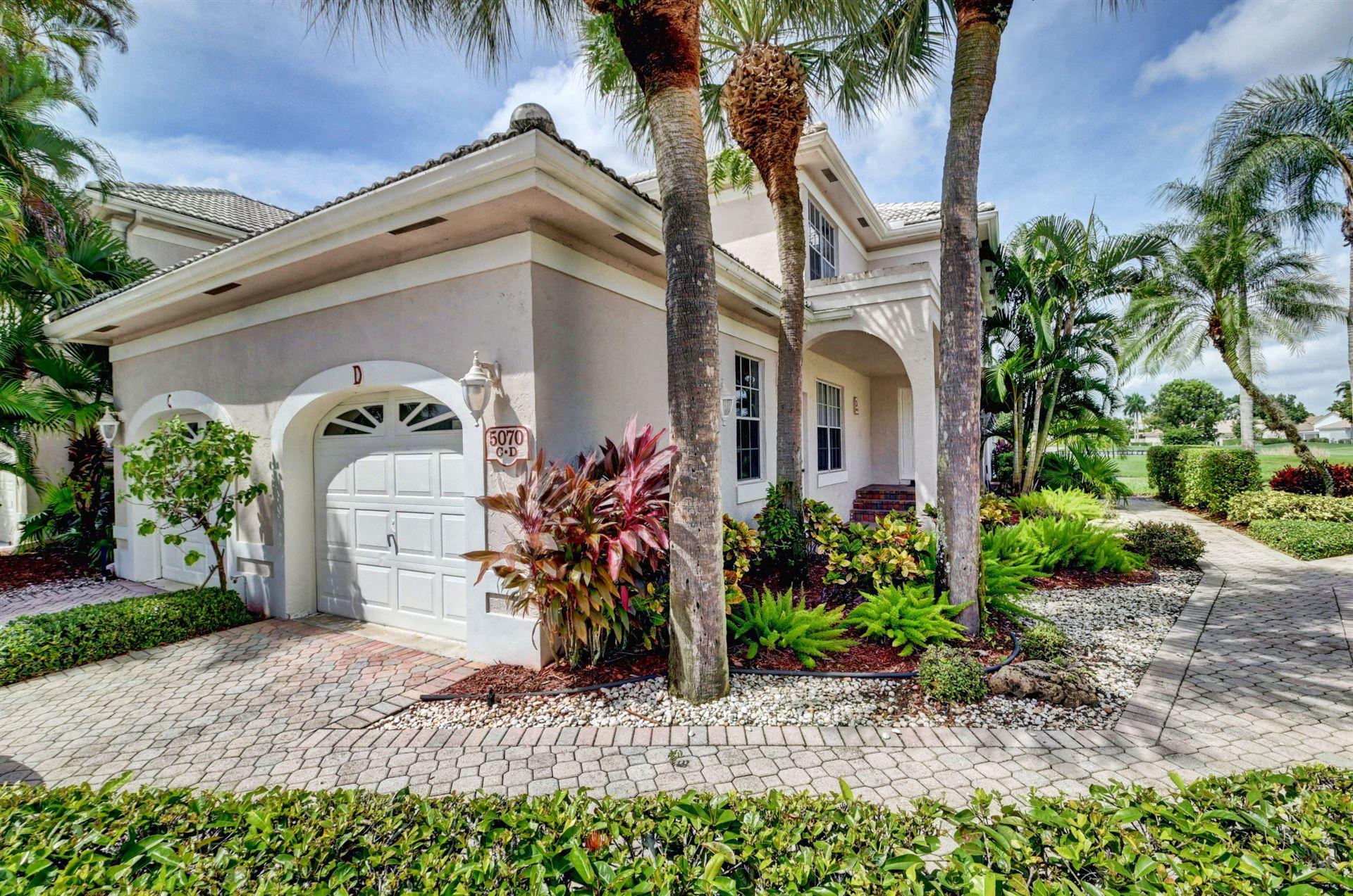 5070 Lake Catalina Drive #D, Boca Raton, FL 33496 - #: RX-10662566