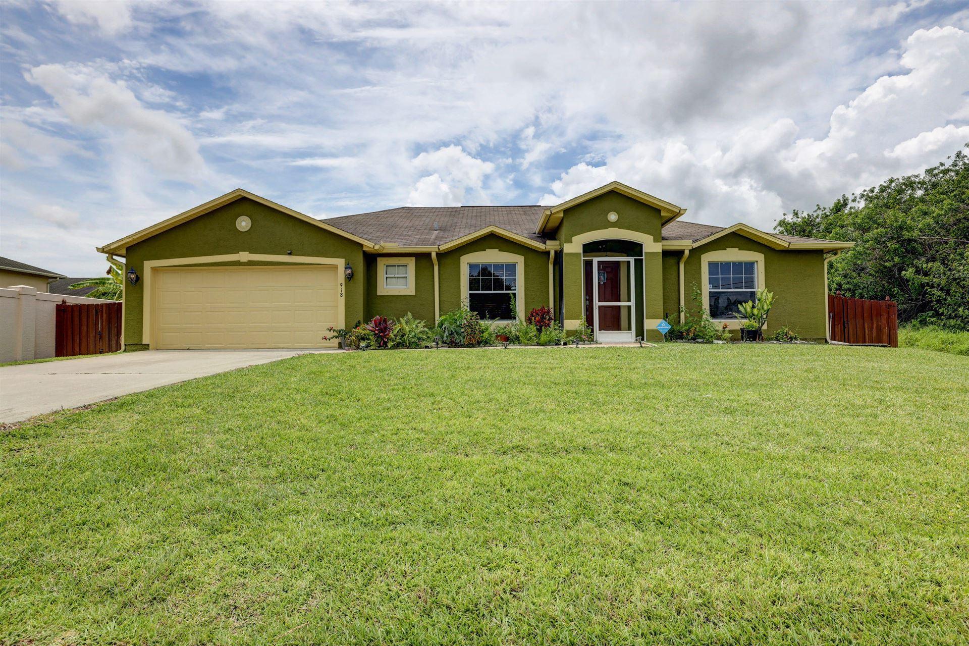 918 SW Mcdevitt Avenue, Port Saint Lucie, FL 34953 - #: RX-10726570