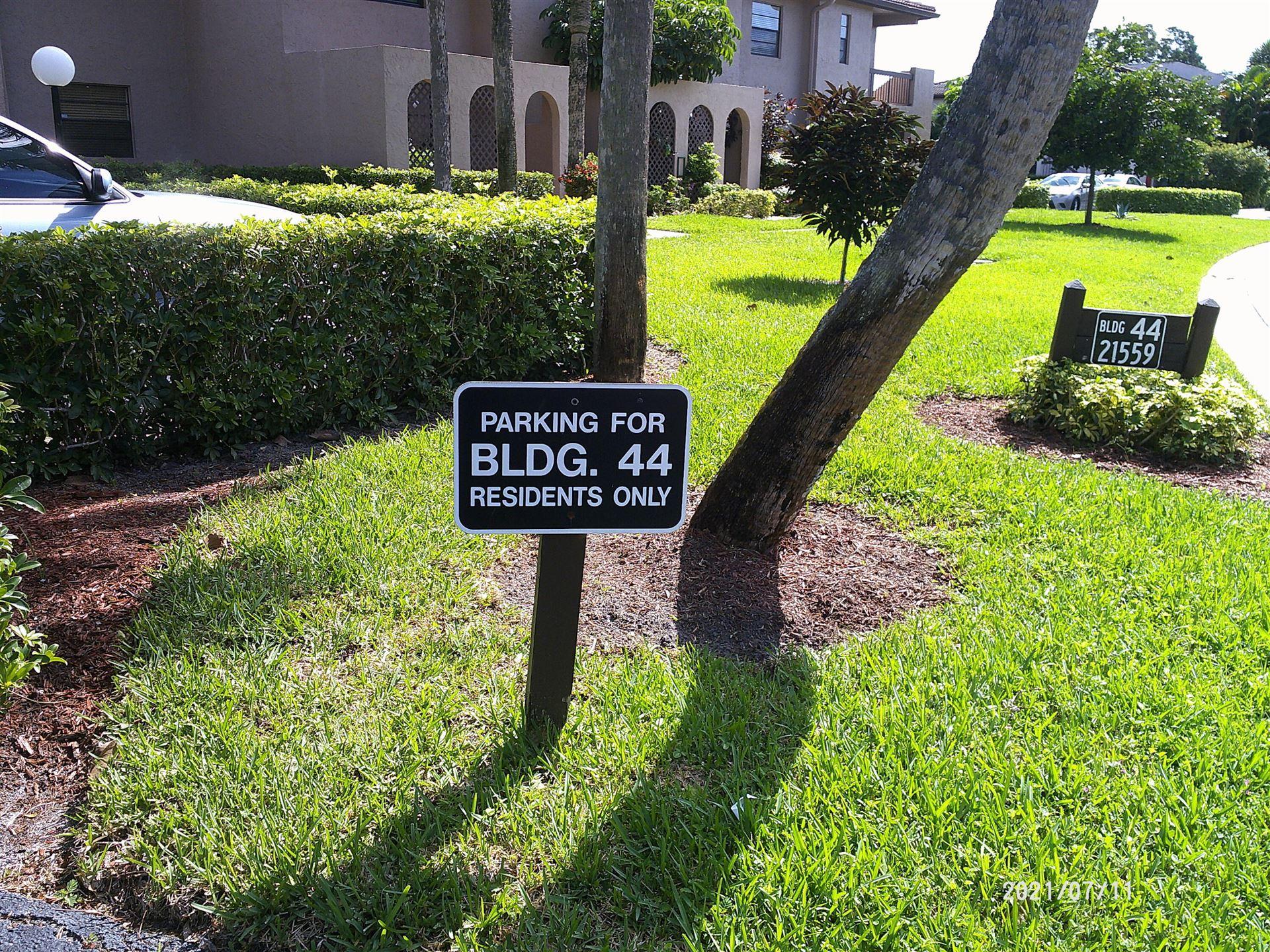 21559 Cypress Hammock Drive #44-C, Boca Raton, FL 33428 - MLS#: RX-10732570
