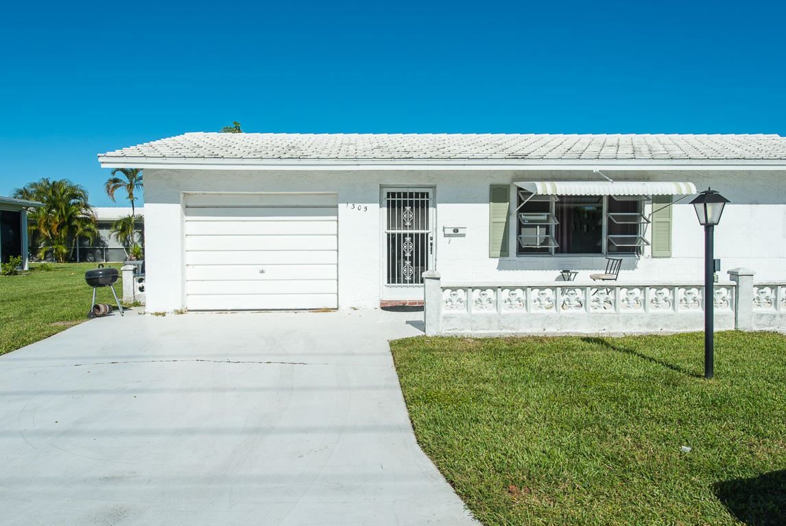 1305 SW 22nd Way, Boynton Beach, FL 33426 - #: RX-10678572