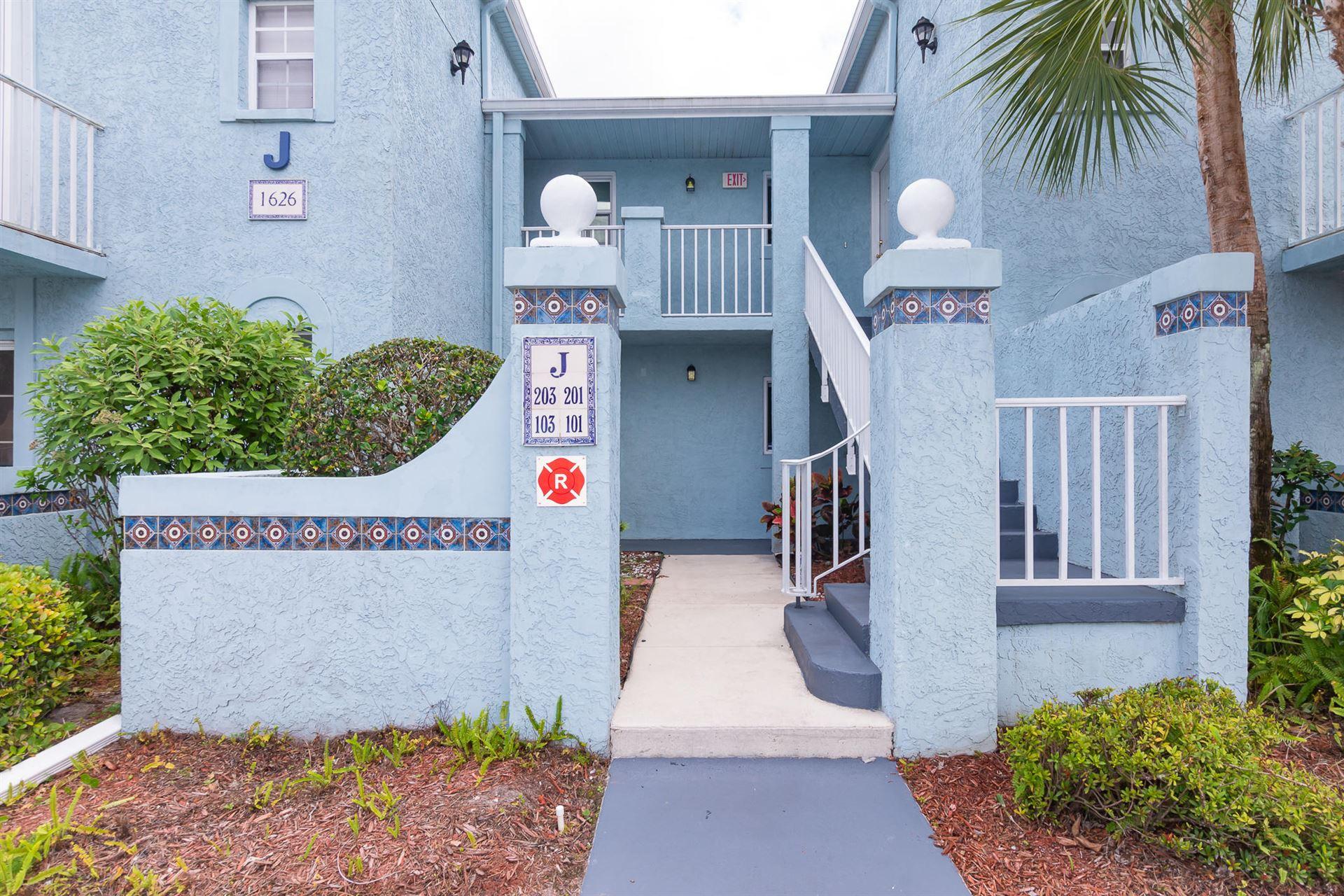 1626 SE Green Acres Circle #J101, Port Saint Lucie, FL 34952 - #: RX-10702573
