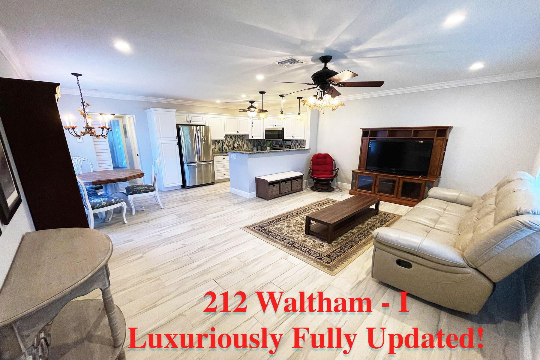 212 Waltham I, West Palm Beach, FL 33417 - MLS#: RX-10738573