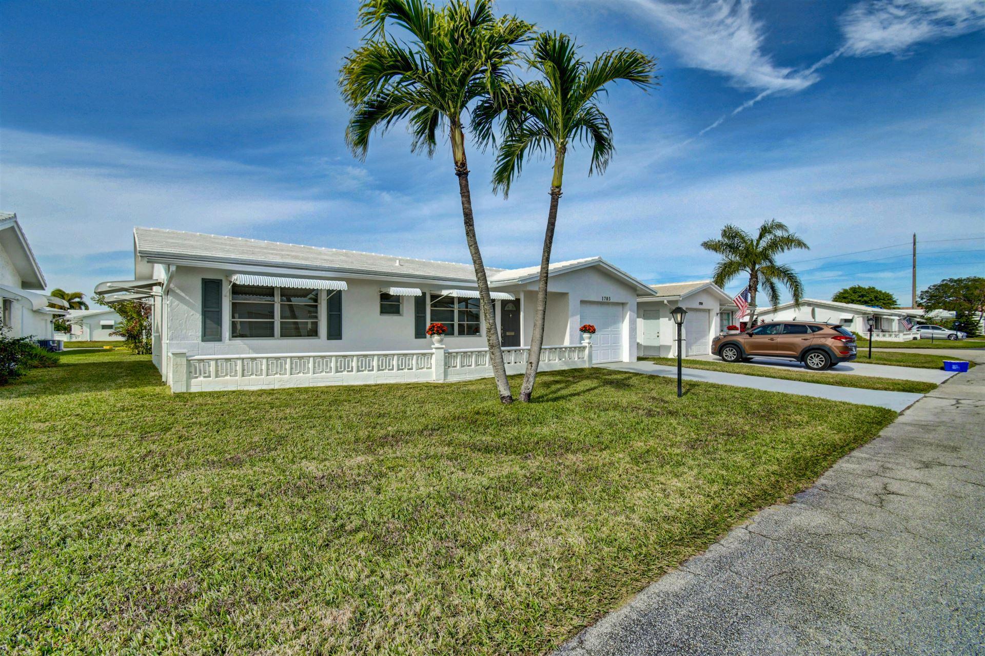1703 SW 20th Street, Boynton Beach, FL 33426 - #: RX-10685574