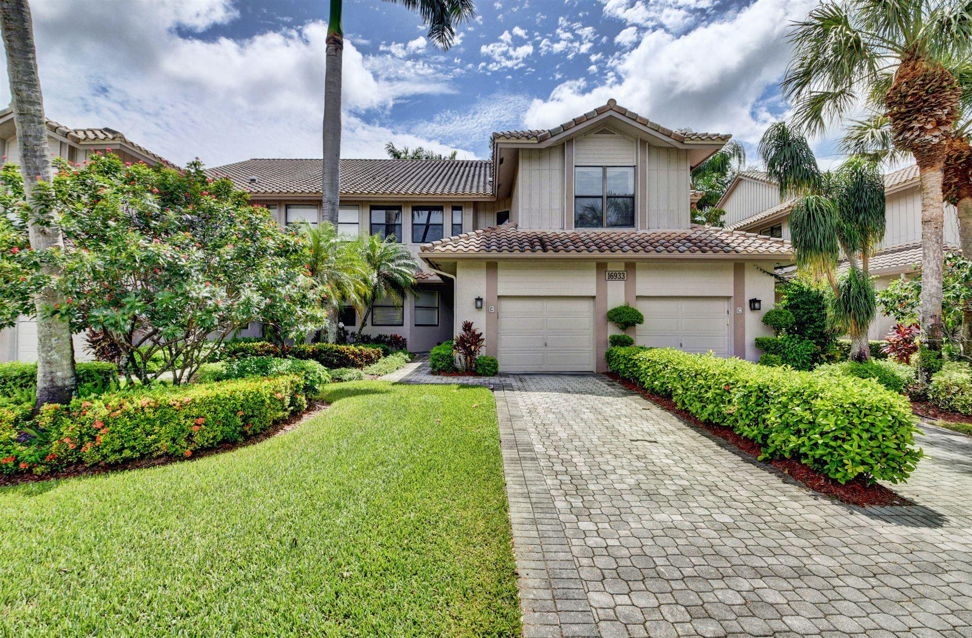 16933 Isle Of Palms Drive #D, Delray Beach, FL 33484 - #: RX-10631575