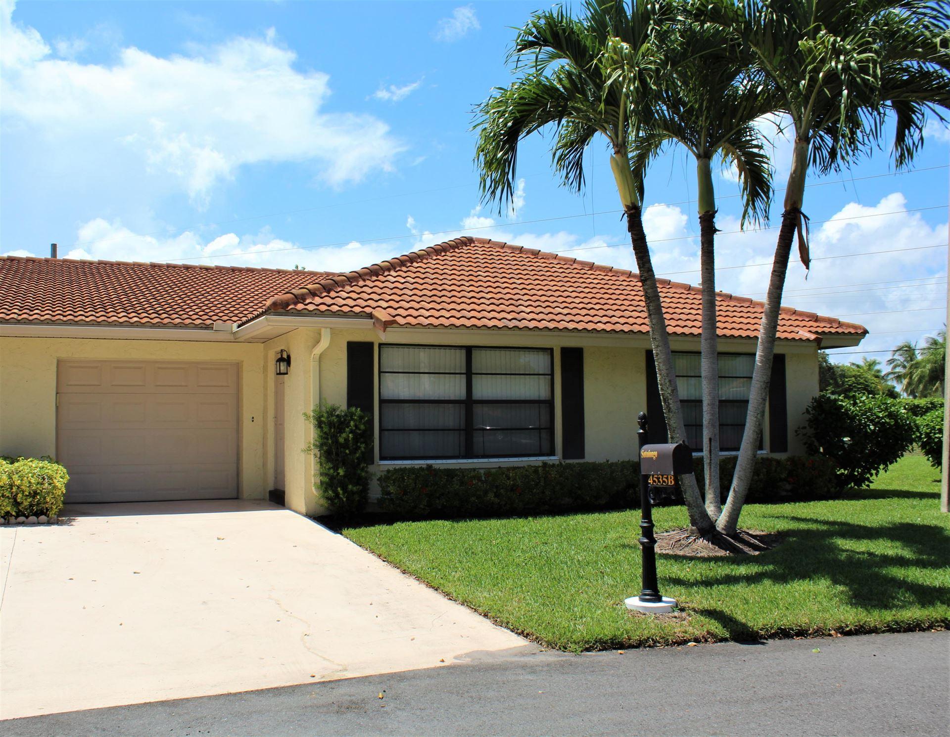 4535 Pandanus Tree Road #B, Boynton Beach, FL 33436 - #: RX-10632575