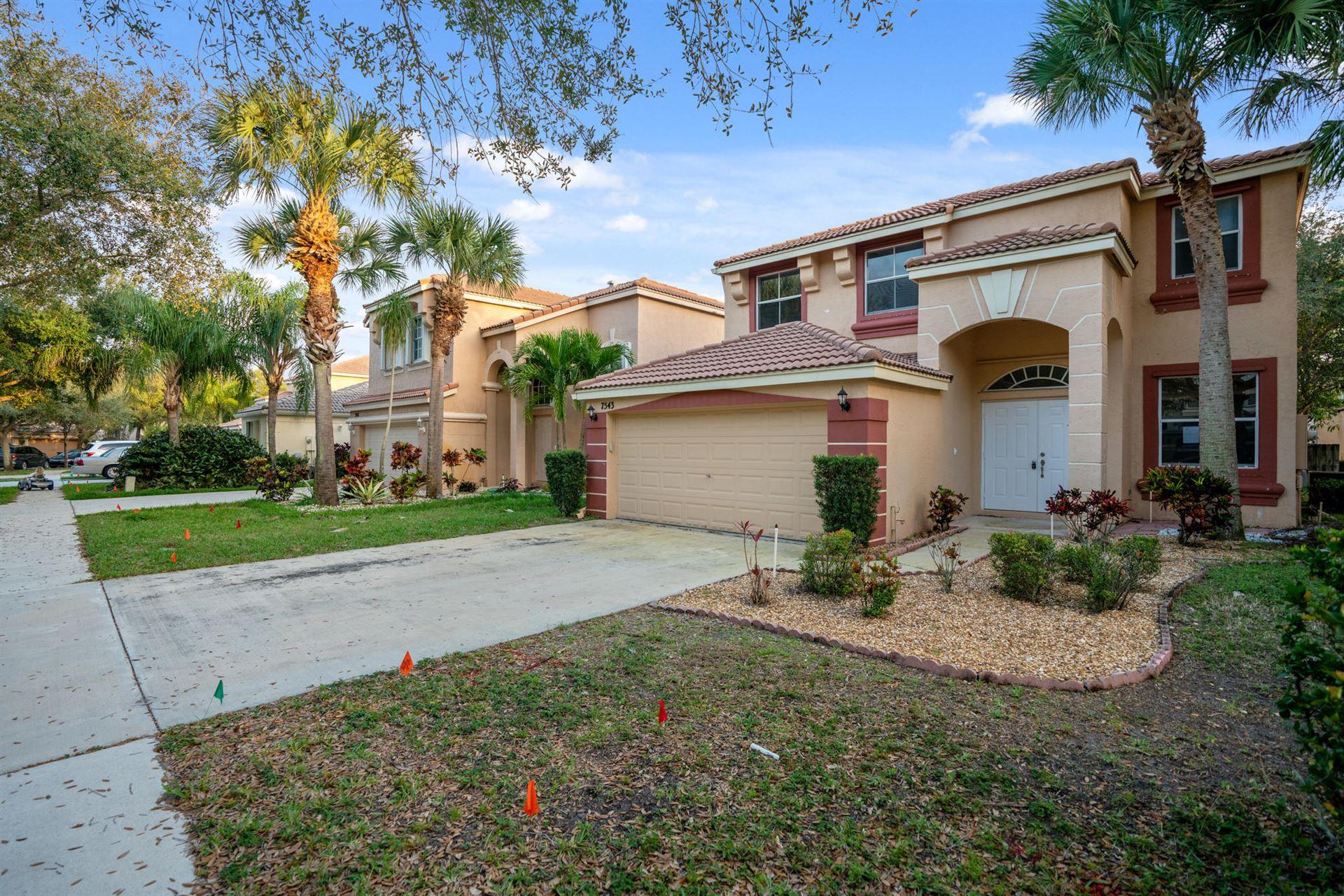 7543 Oak Grove Circle, Lake Worth, FL 33467 - #: RX-10599576