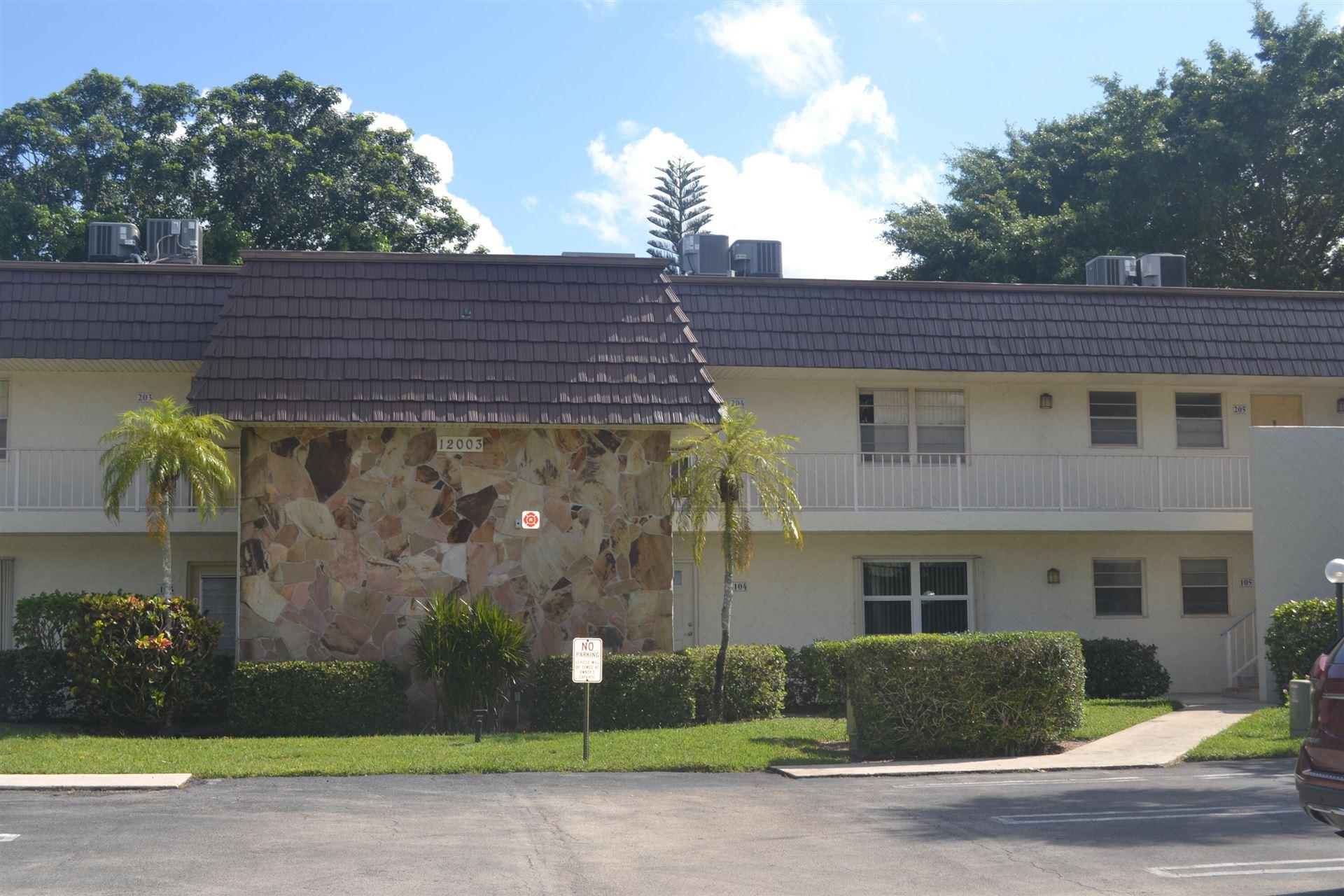 12003 Poinciana Boulevard #203, Royal Palm Beach, FL 33411 - MLS#: RX-10742576