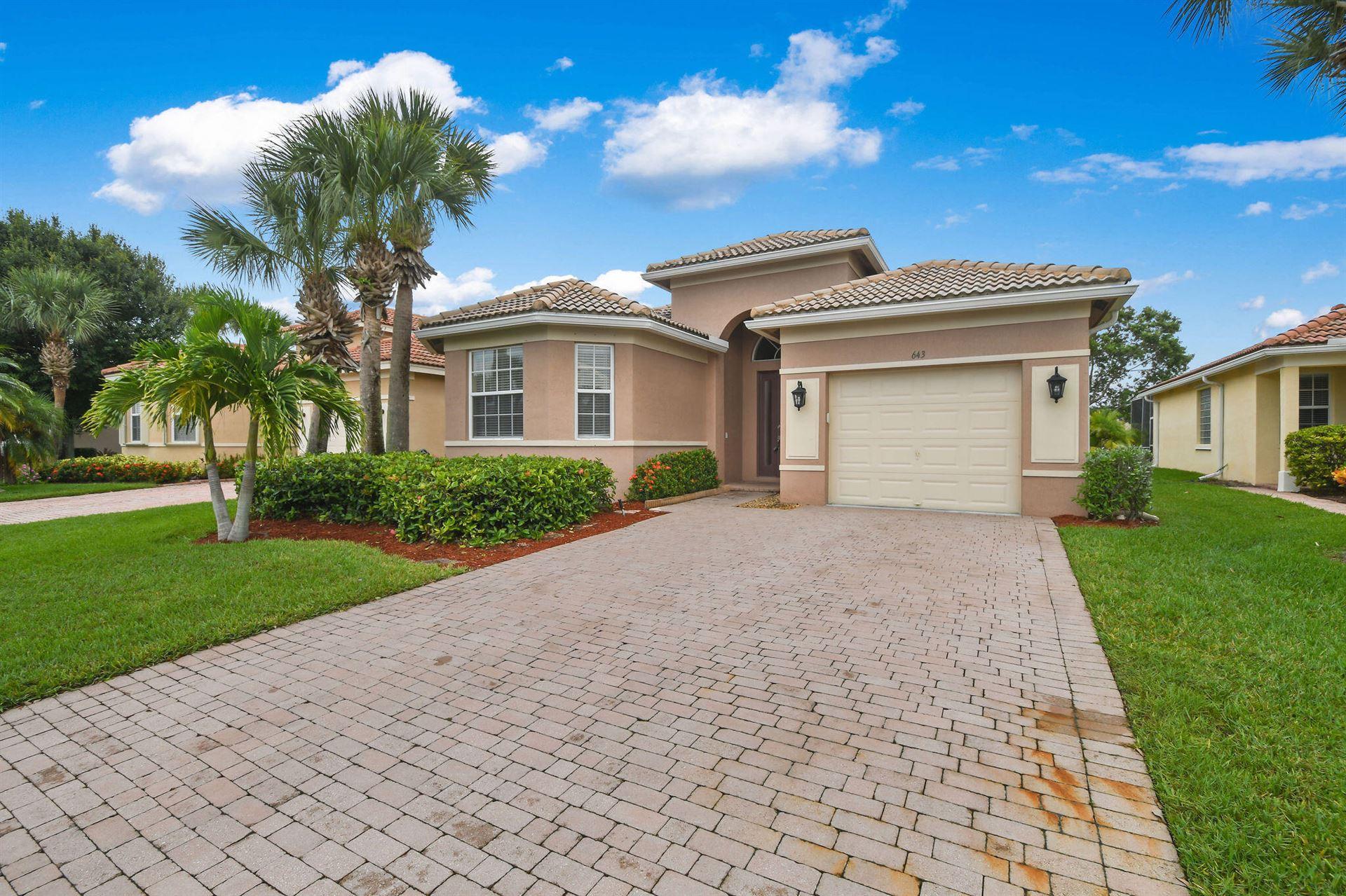 643 NW Stanford Lane, Port Saint Lucie, FL 34983 - #: RX-10742581