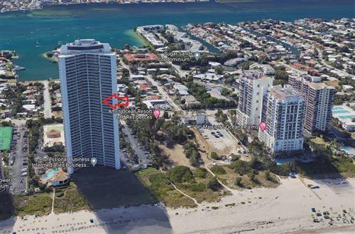 Photo of 3000 N Ocean Drive #20d, Riviera Beach, FL 33404 (MLS # RX-10714582)