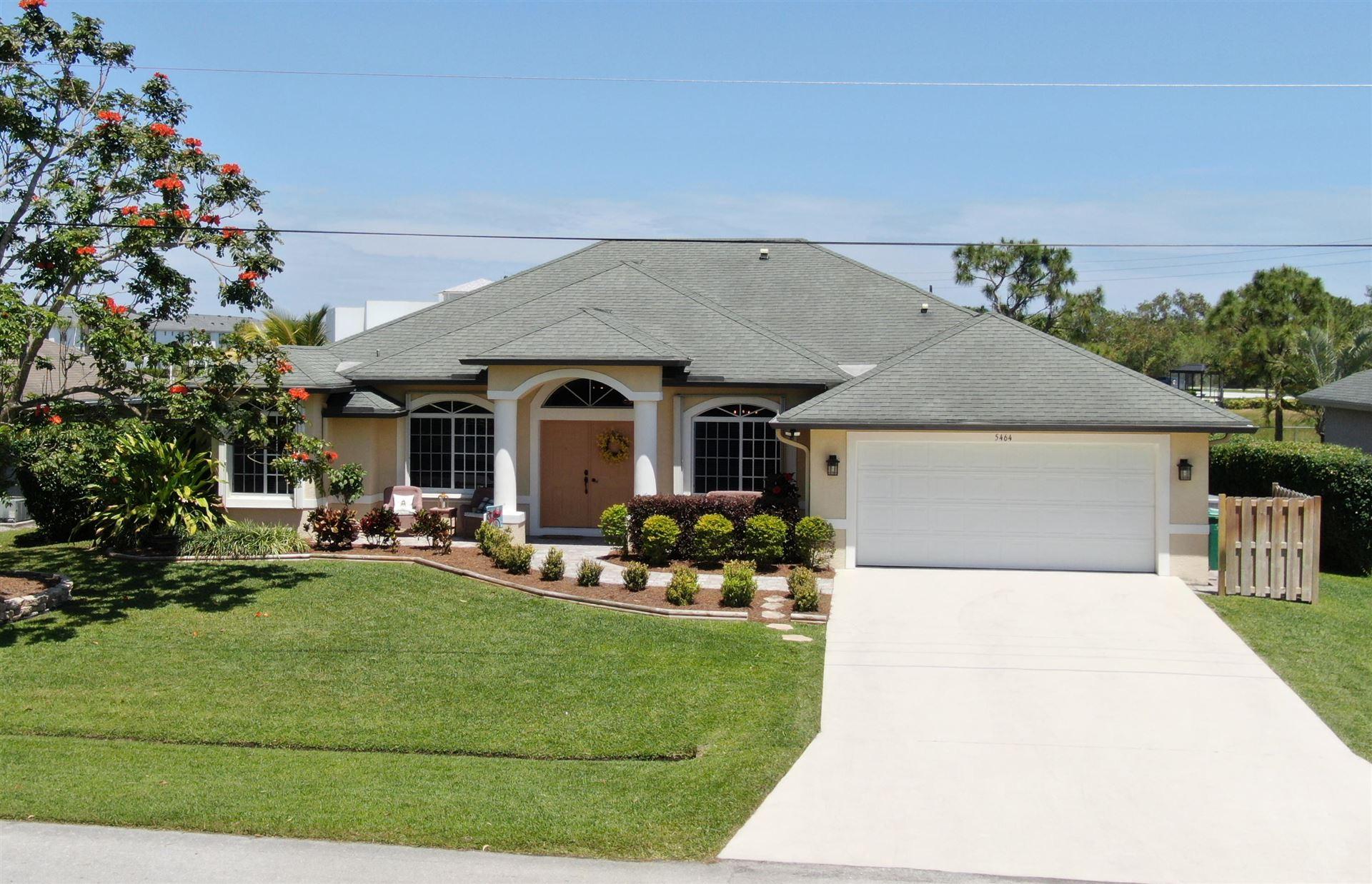 5464 NW Model Court, Port Saint Lucie, FL 34986 - #: RX-10709585