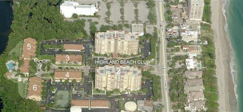 Photo of 3606 S Ocean Boulevard #706, Highland Beach, FL 33487 (MLS # RX-10752588)