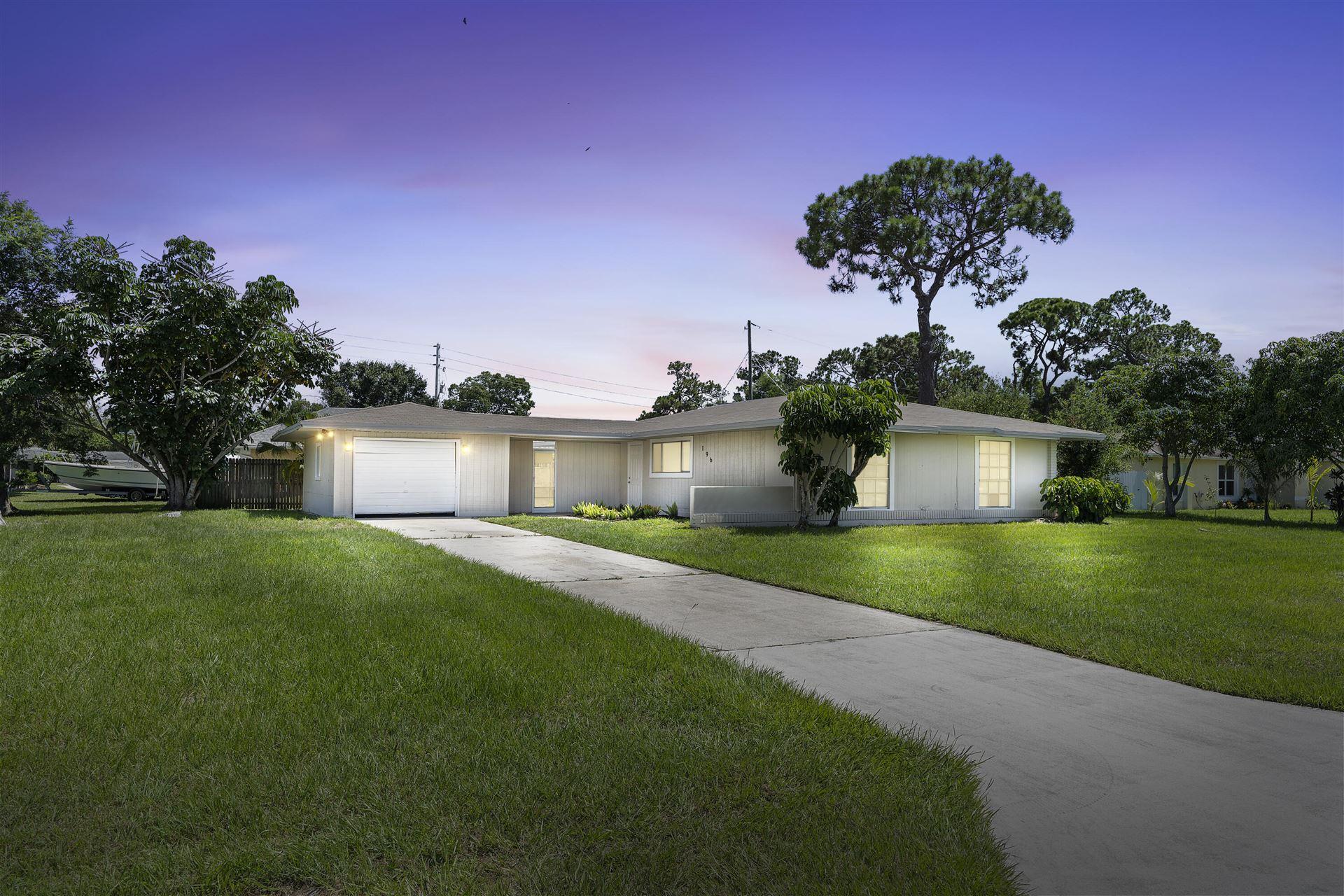 196 NE Caprona Avenue, Port Saint Lucie, FL 34952 - MLS#: RX-10731589