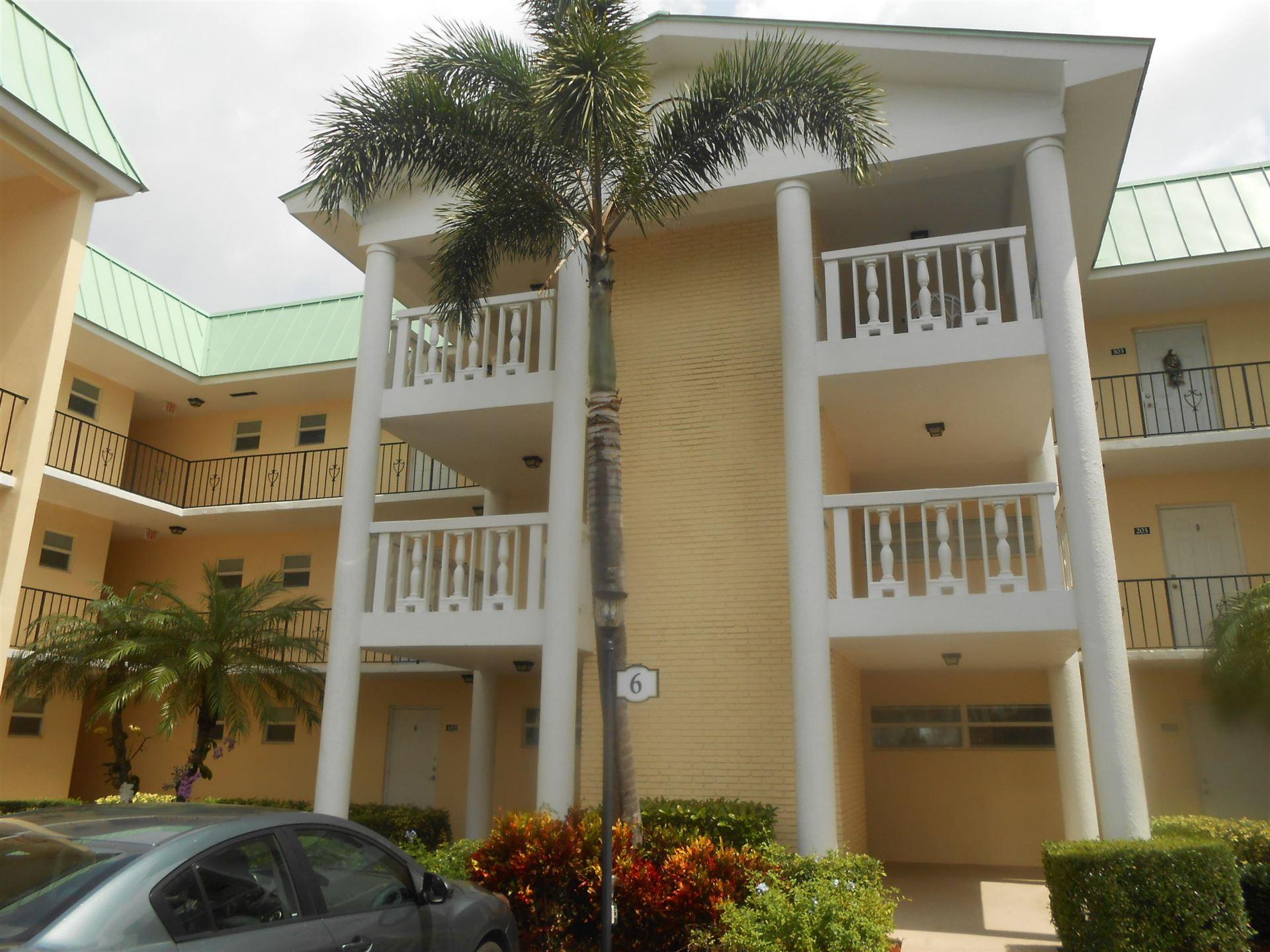 6 Colonial Club Drive #101, Boynton Beach, FL 33435 - #: RX-10616591