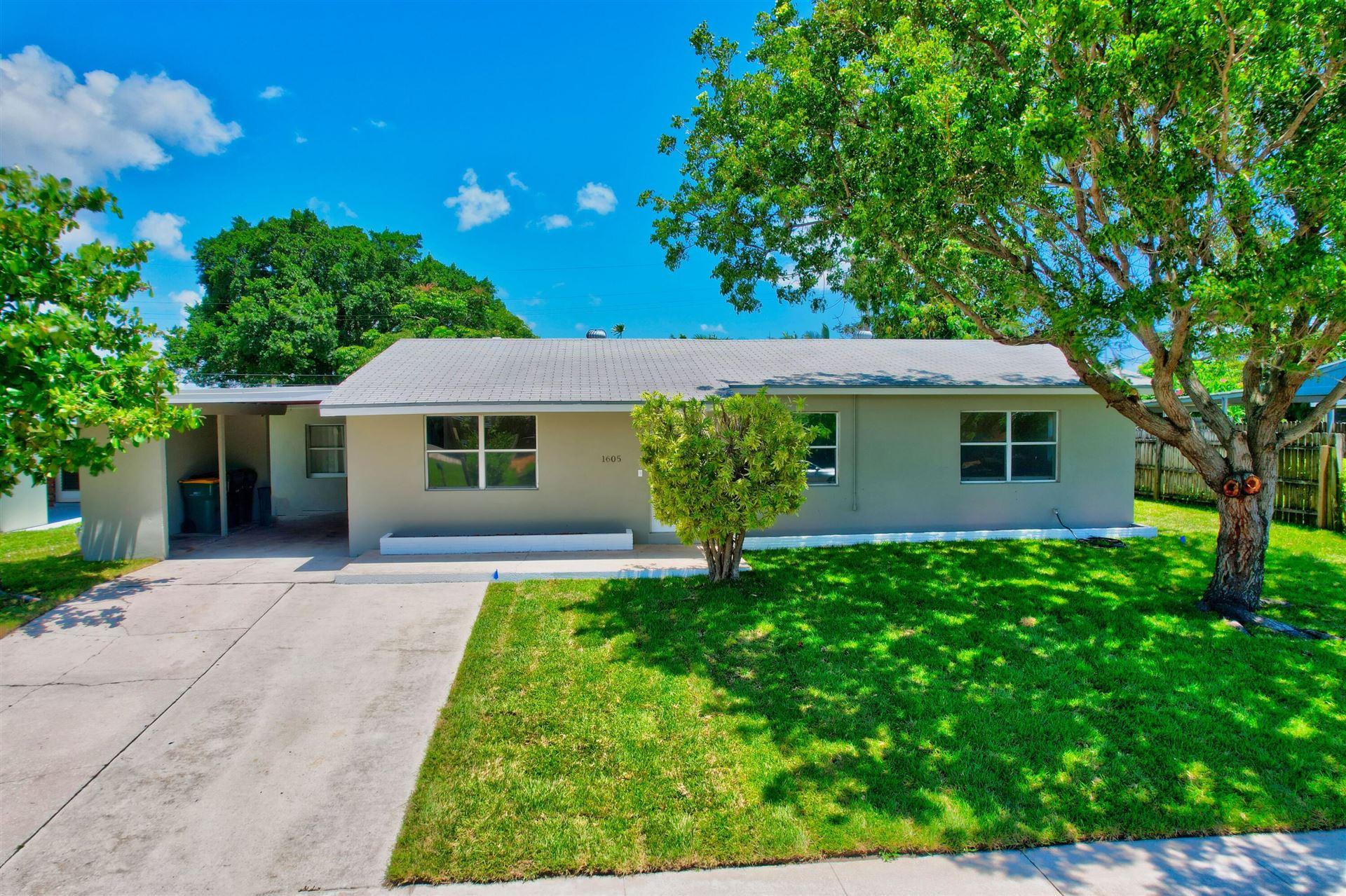 1605 Nanette Court, Lake Worth, FL 33461 - MLS#: RX-10722592