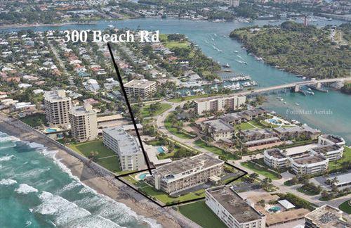Foto de inmueble con direccion 300 S Beach Road #405 Tequesta FL 33469 con MLS RX-10640595
