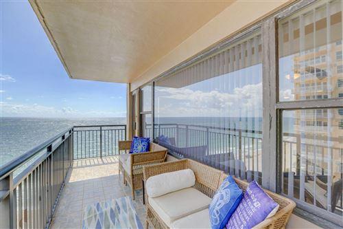 Photo of 3800 Galt Ocean Drive #1105, Fort Lauderdale, FL 33308 (MLS # RX-10631596)