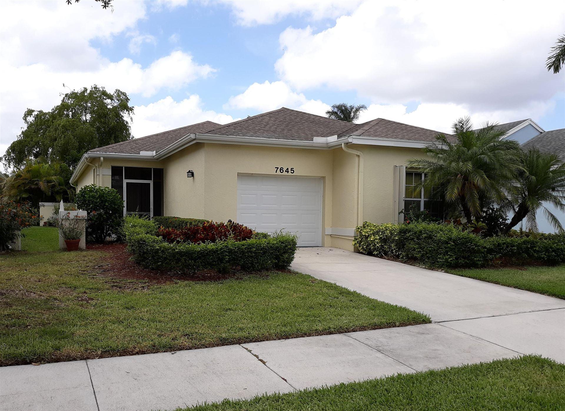 7645 Mansfield Hollow Road, Delray Beach, FL 33446 - #: RX-10716597