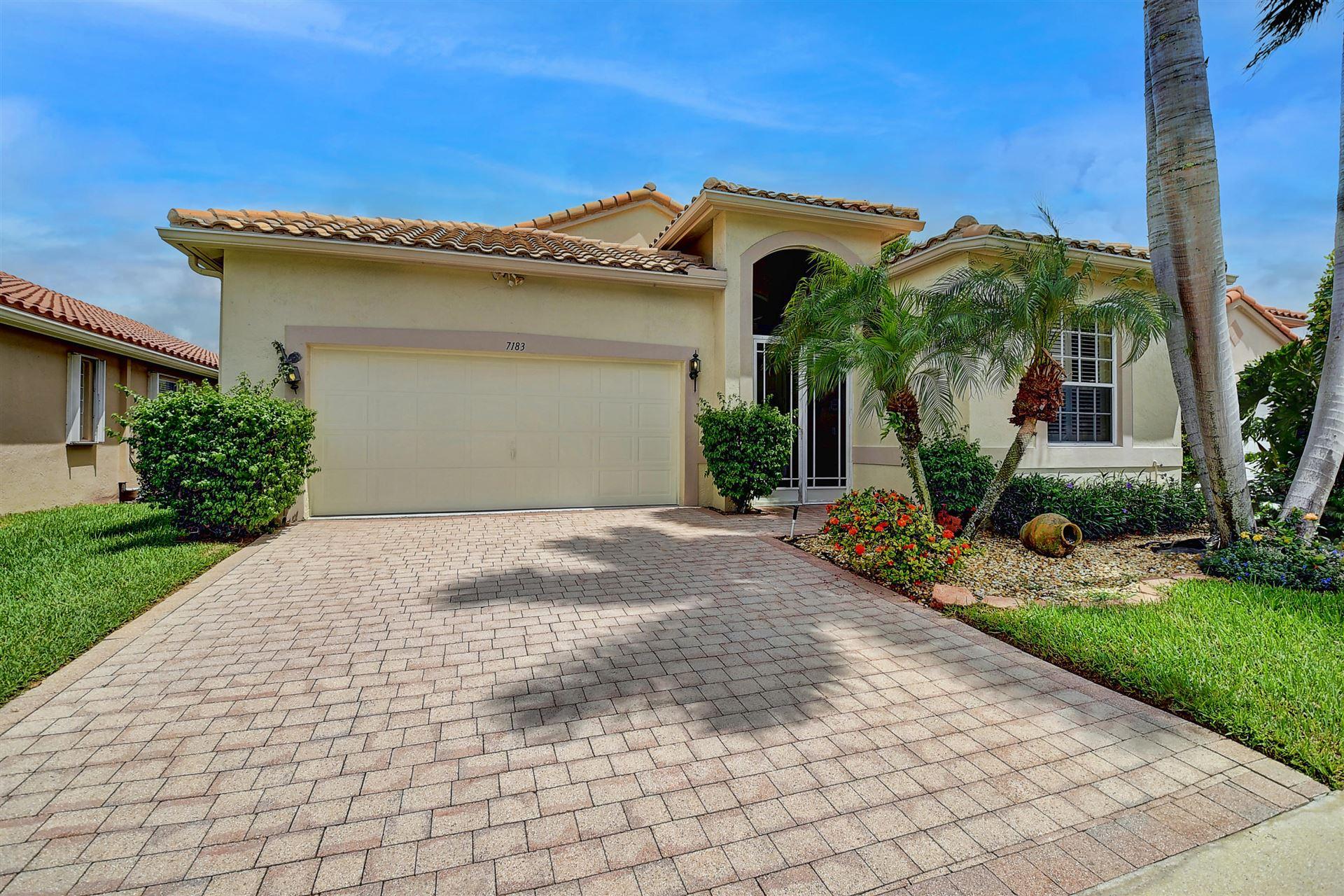 7183 Louisiane Court, Boynton Beach, FL 33437 - #: RX-10727597