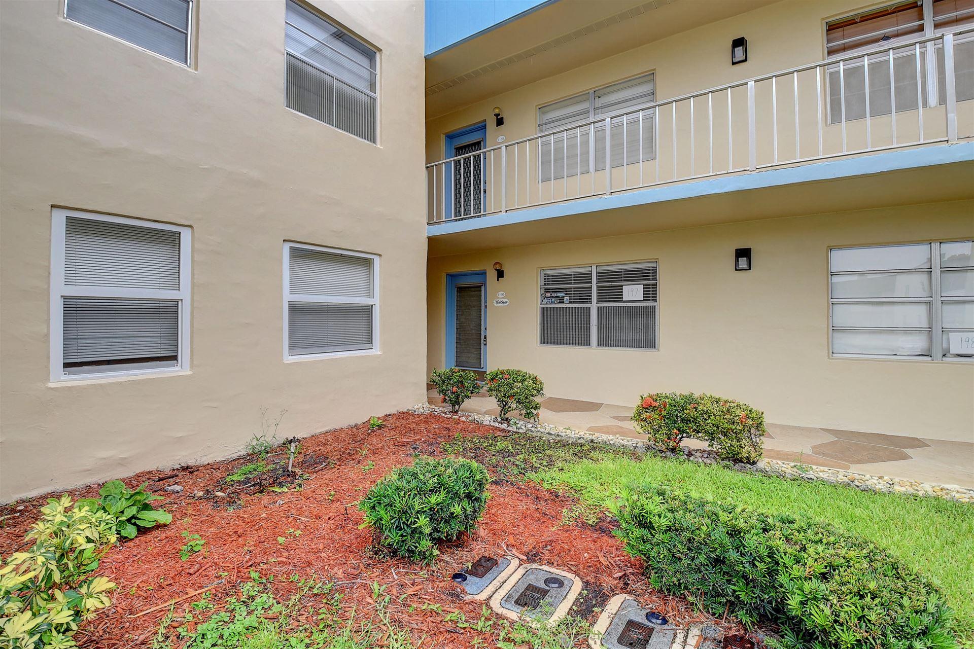 197 Burgundy E, Delray Beach, FL 33484 - MLS#: RX-10730598
