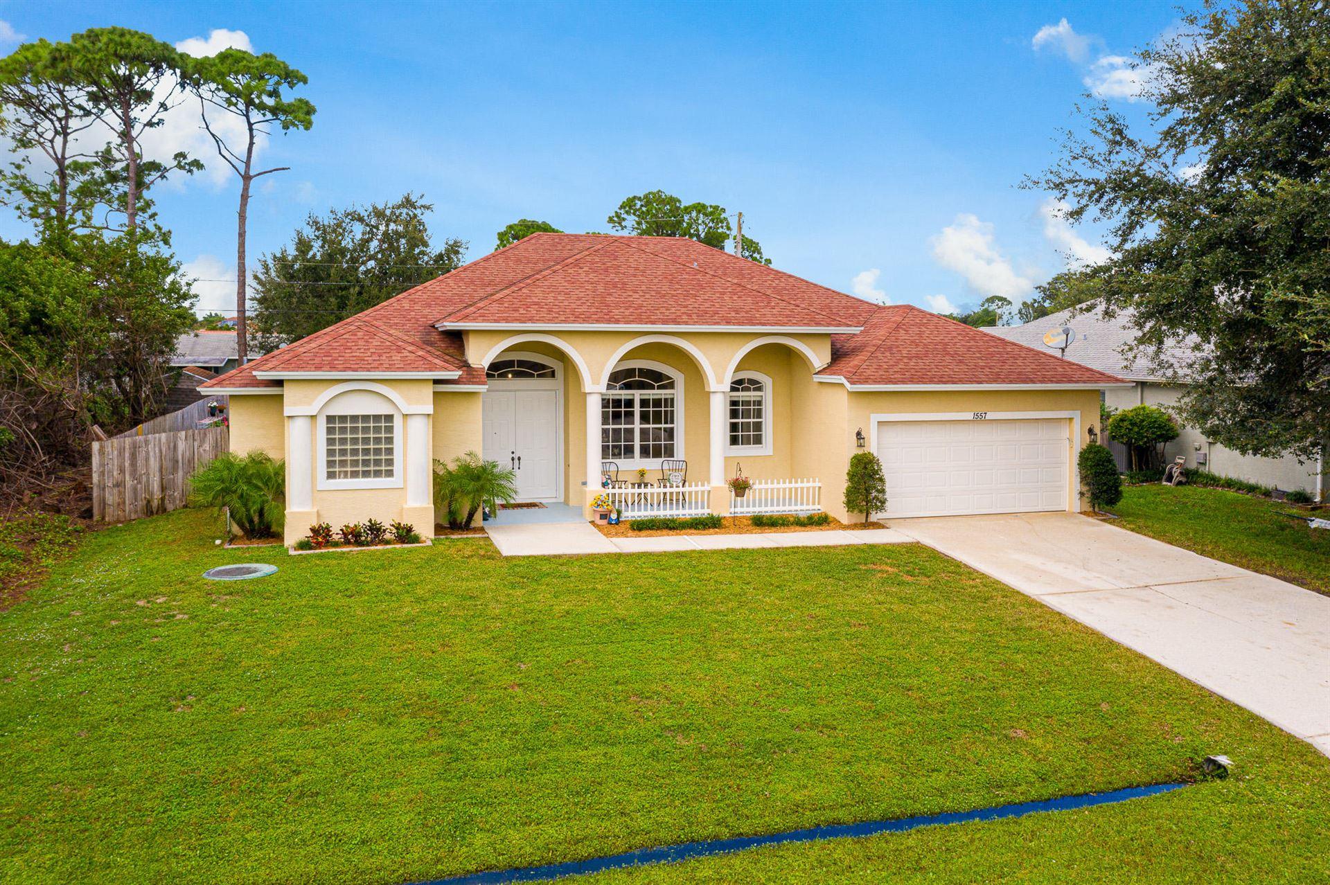 1557 SW Mercedes Avenue, Port Saint Lucie, FL 34983 - #: RX-10675601