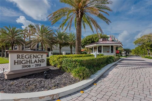 Photo of 3912 S Ocean Boulevard #312, Highland Beach, FL 33487 (MLS # RX-10682602)