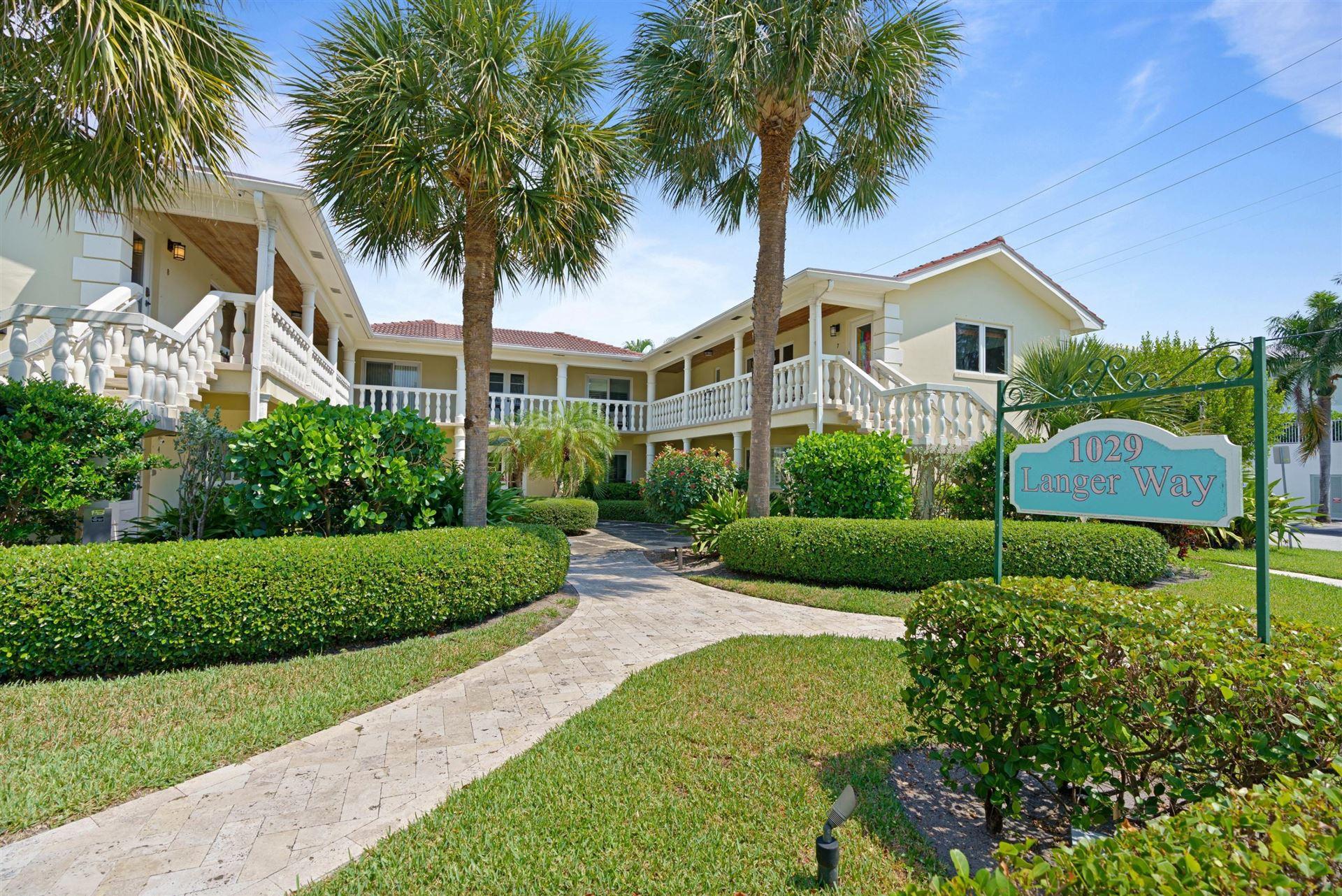 1029 Langer Way #2, Delray Beach, FL 33483 - #: RX-10708602