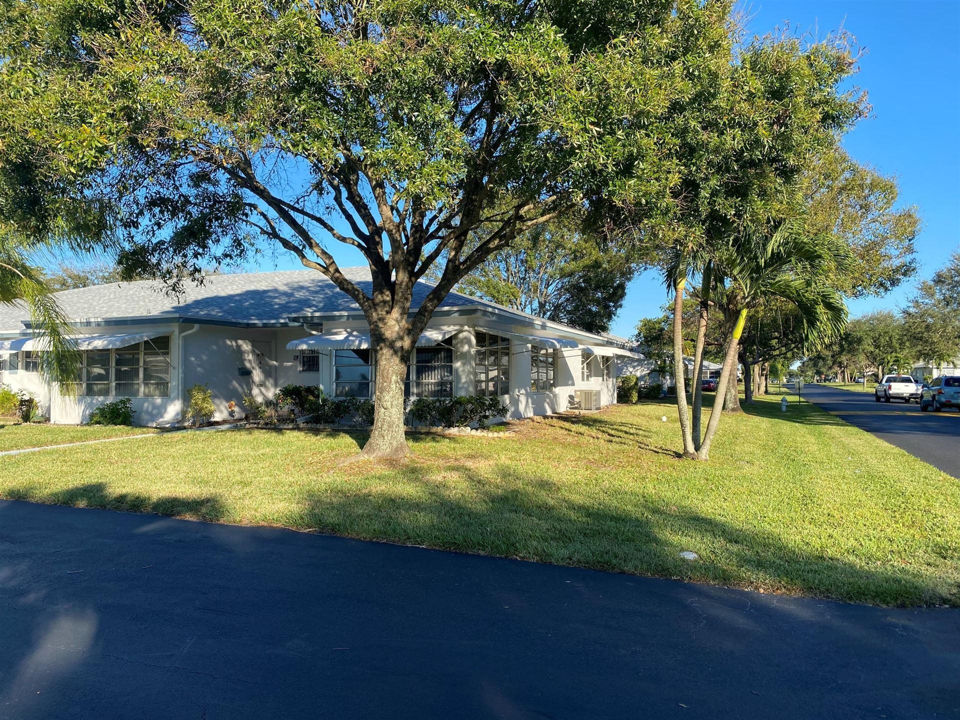 1135 South Drive #D, Delray Beach, FL 33445 - #: RX-10668604