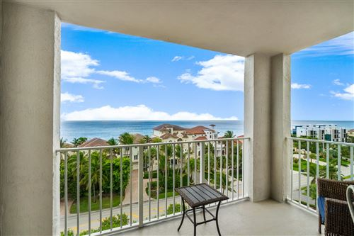 Photo of 3606 S Ocean Boulevard #902, Highland Beach, FL 33487 (MLS # RX-10652605)