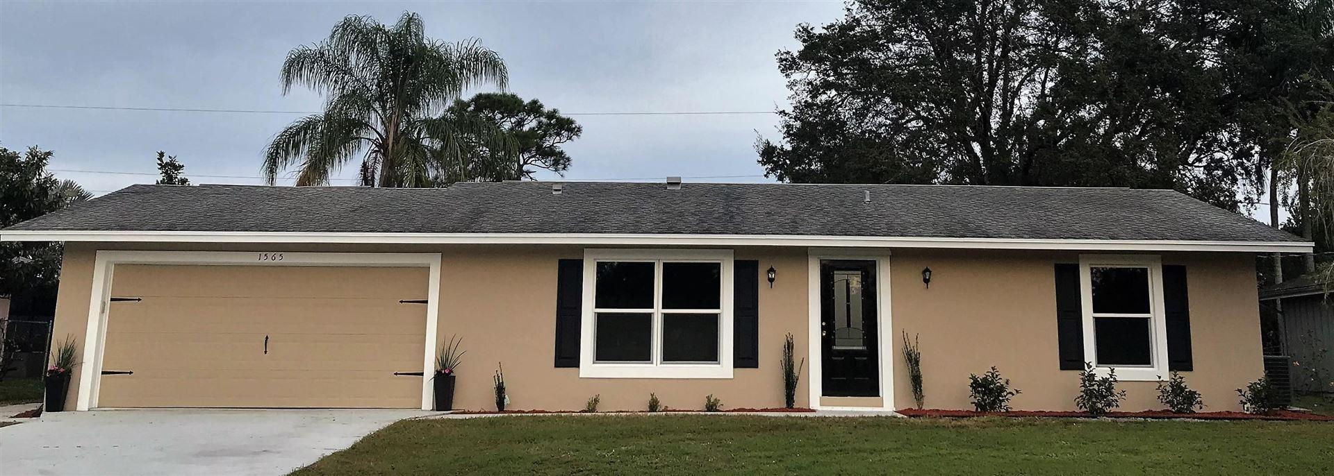 1565 SE Cambridge Drive, Port Saint Lucie, FL 34952 - #: RX-10684605