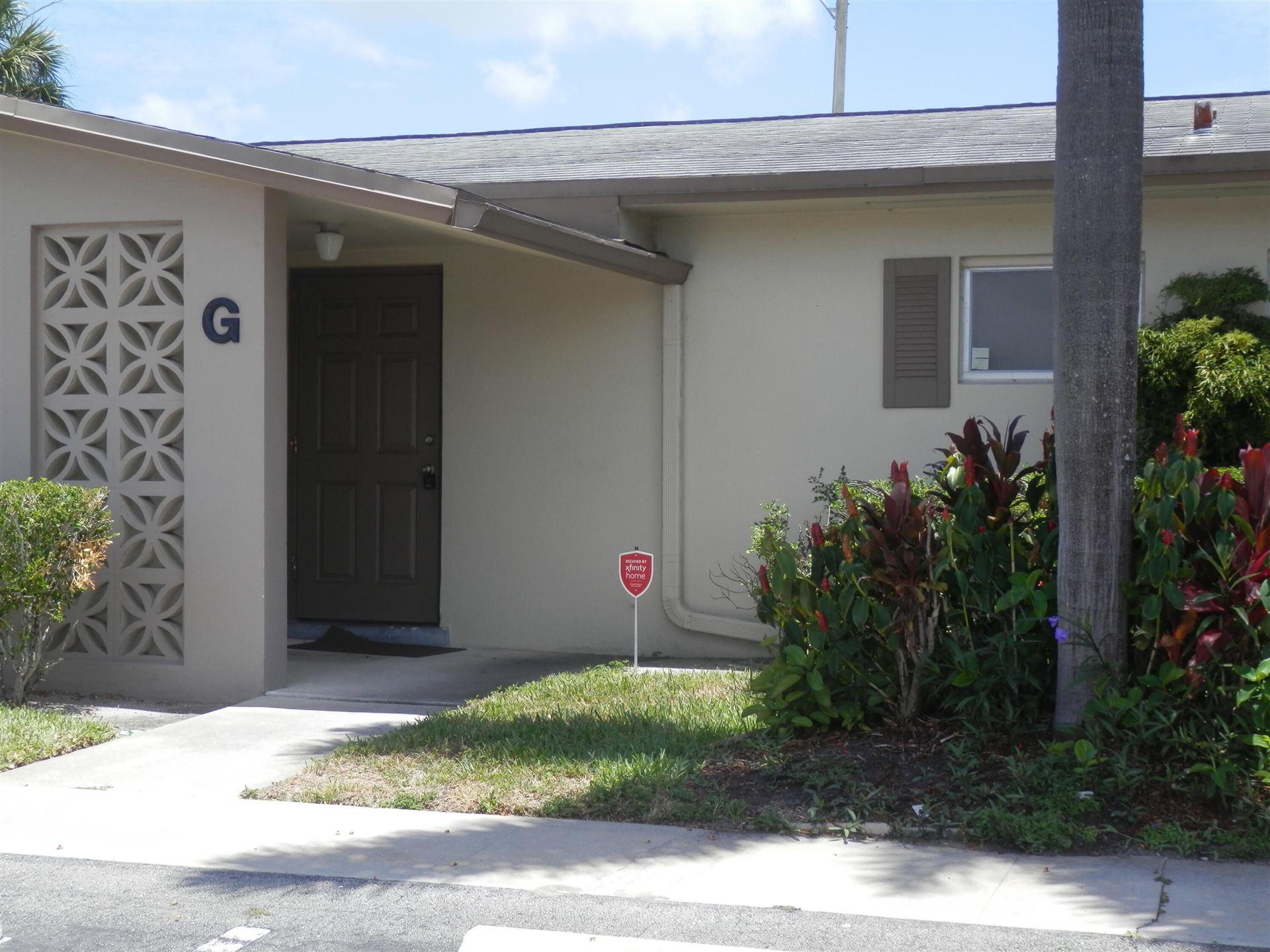 5243 Cresthaven Boulevard #G, West Palm Beach, FL 33415 - MLS#: RX-10722606