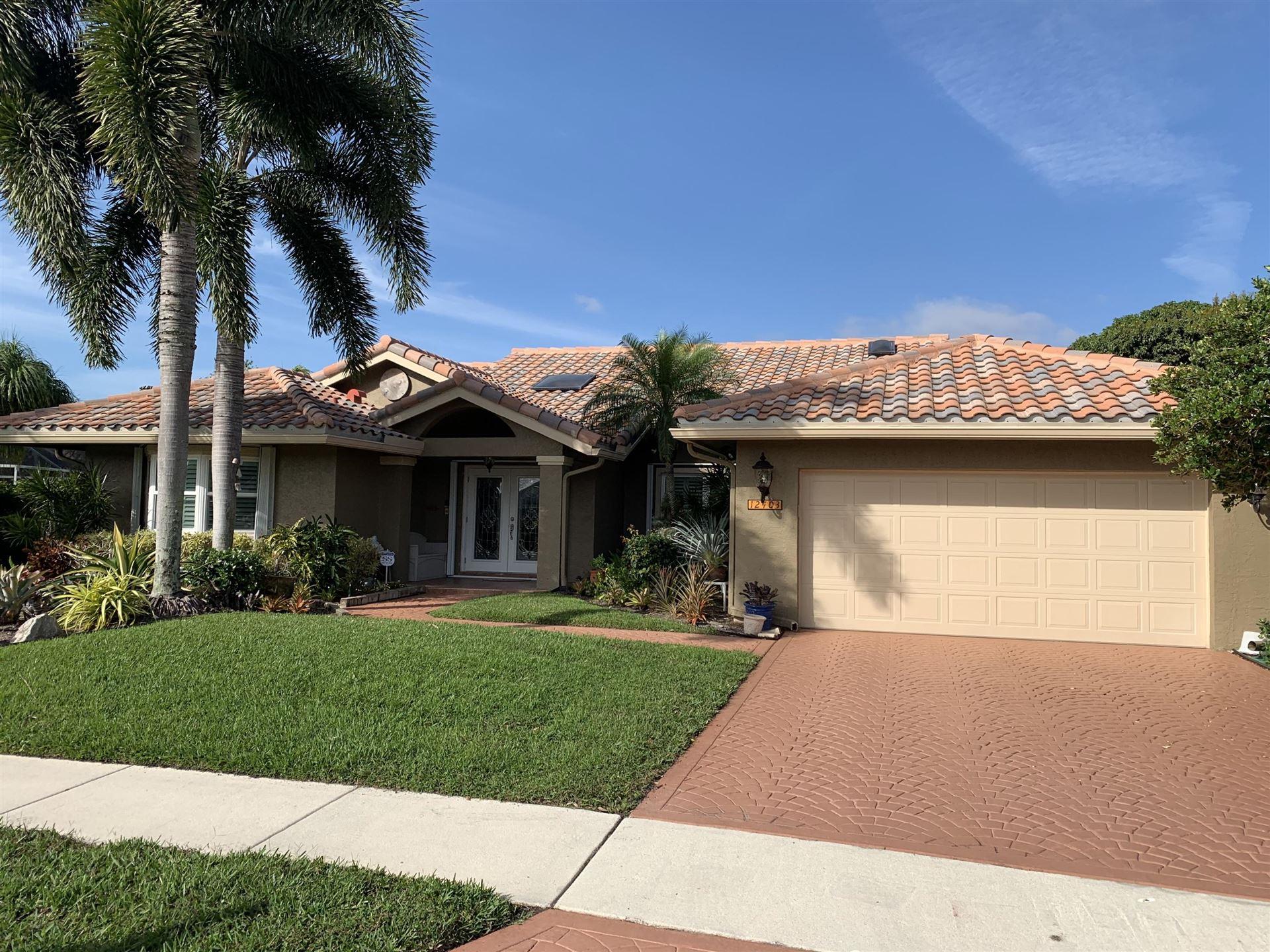 12403 Dogleg Drive, Boynton Beach, FL 33437 - #: RX-10675607
