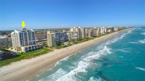 Photo of 3115 S Ocean Boulevard #502, Highland Beach, FL 33487 (MLS # RX-10656610)