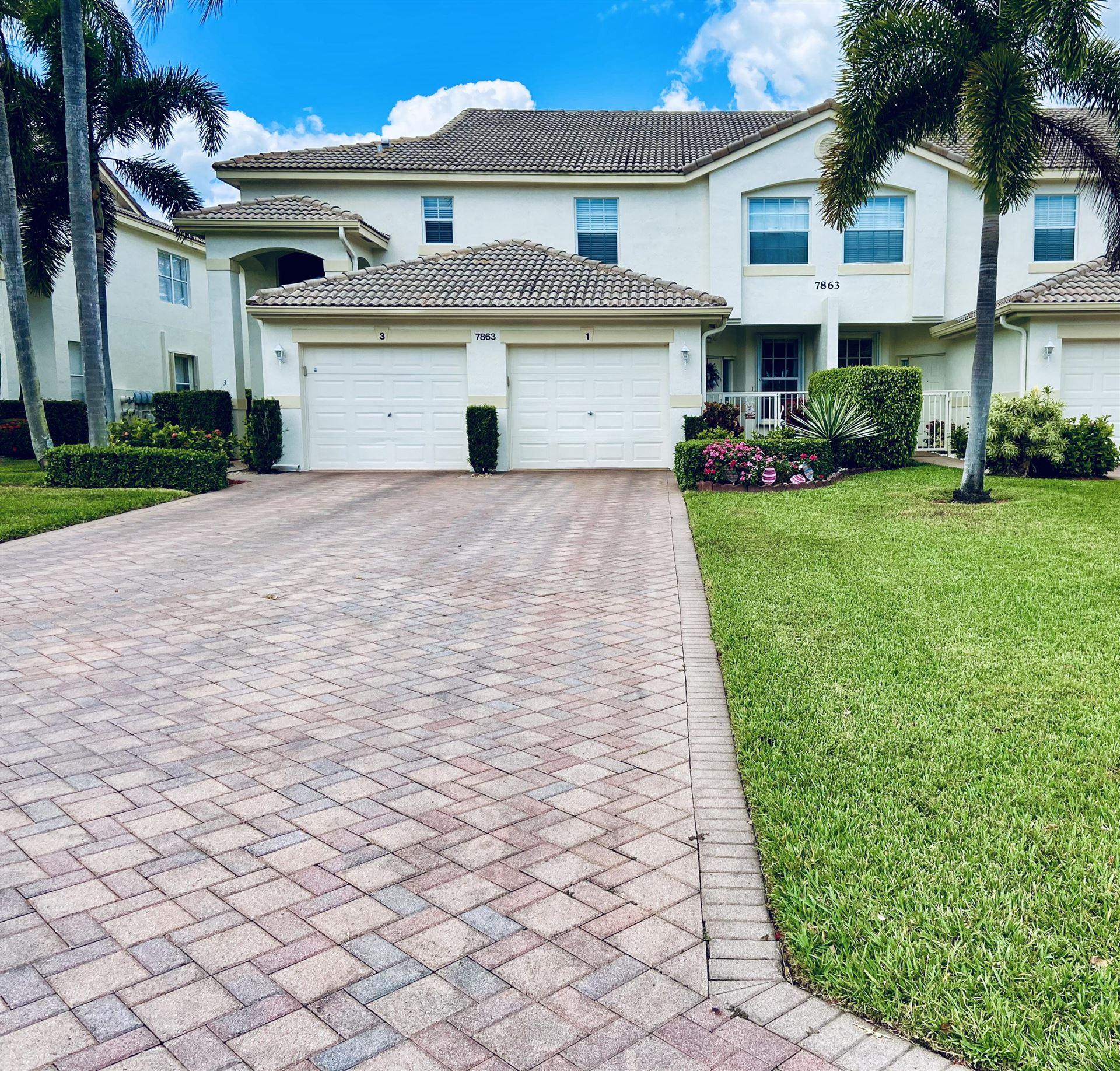 7863 Laina Lane #1, Boynton Beach, FL 33437 - MLS#: RX-10705610