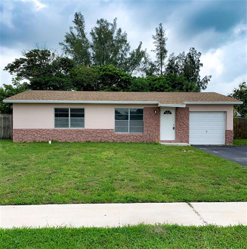 Photo of 7813 SW 9 Street, North Lauderdale, FL 33068 (MLS # RX-10626613)