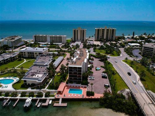 Photo of 225 S Beach Road #403, Tequesta, FL 33469 (MLS # RX-10673613)