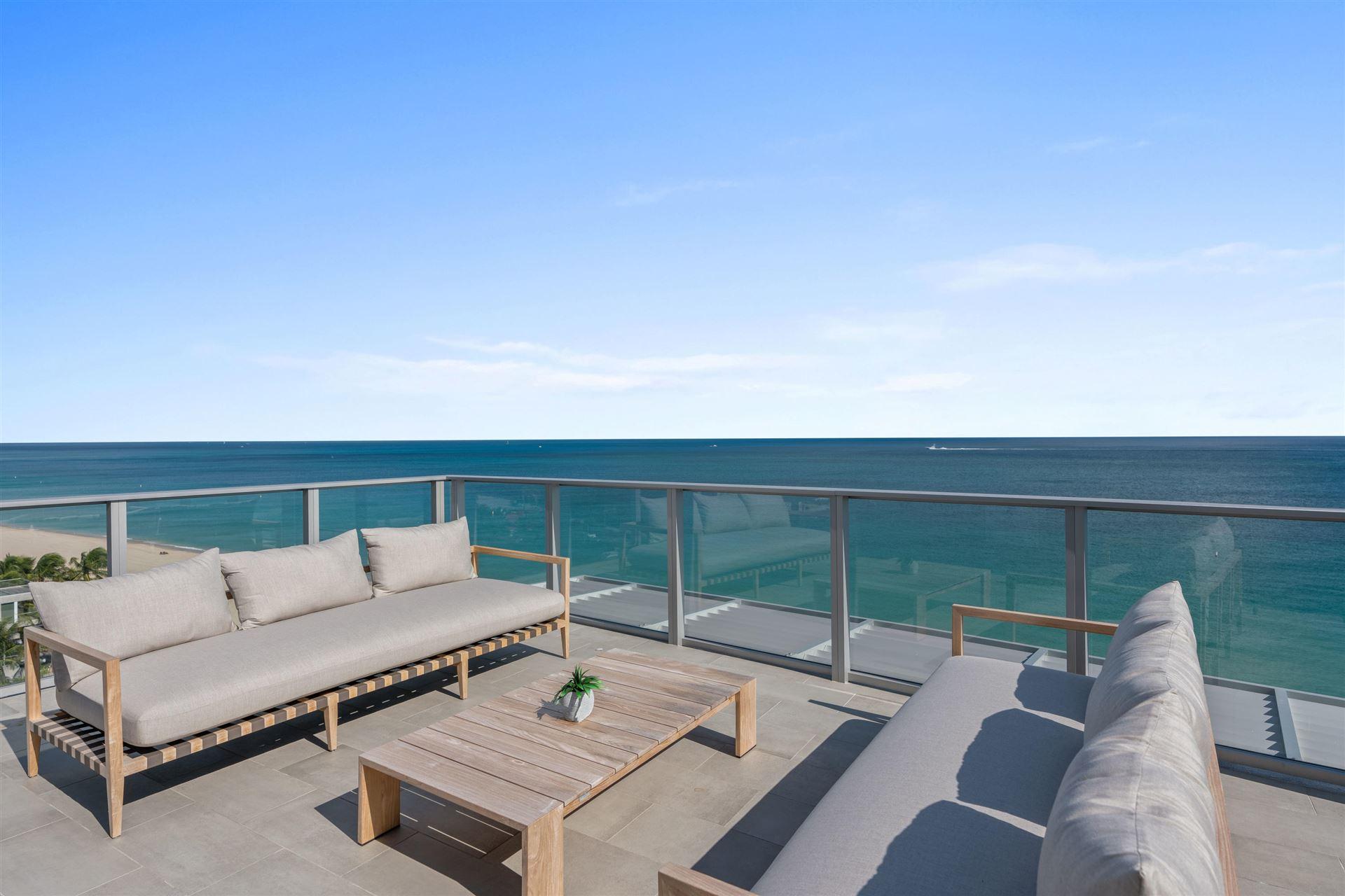 Photo of 2200 N Ocean Boulevard #N804, Fort Lauderdale, FL 33305 (MLS # RX-10583613)