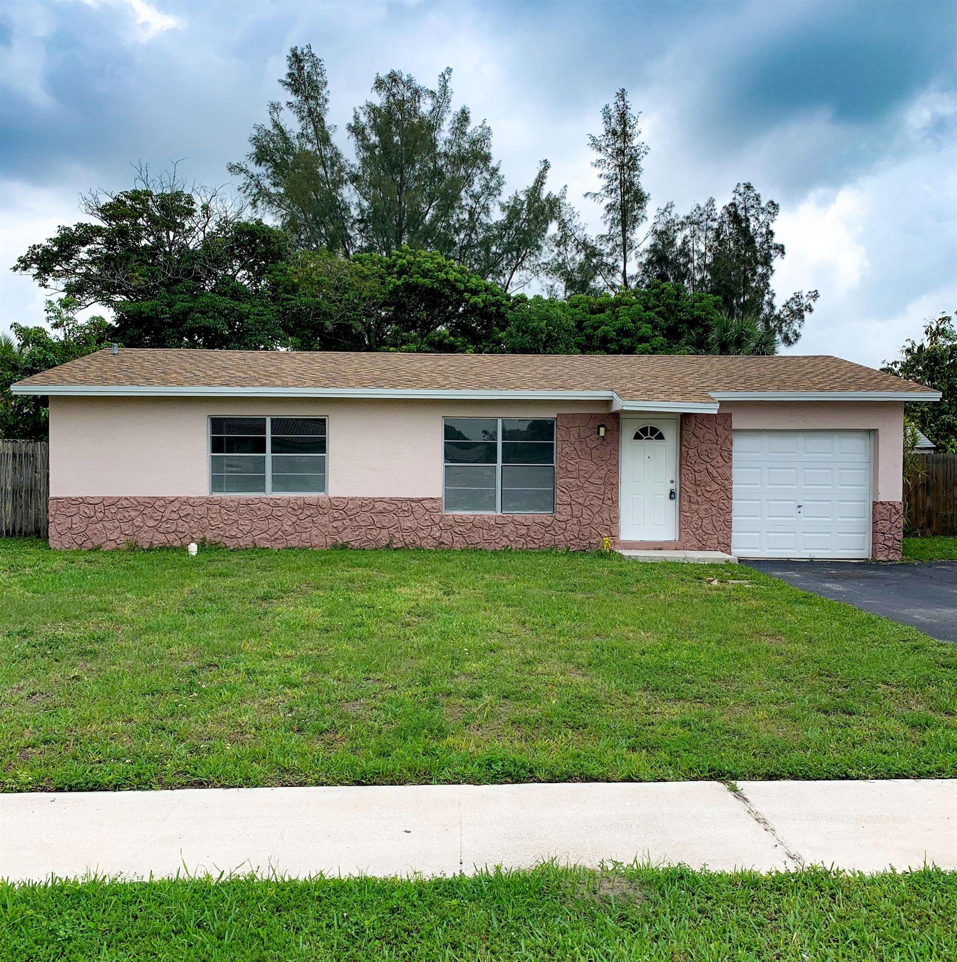 7813 SW 9 Street, North Lauderdale, FL 33068 - #: RX-10626613