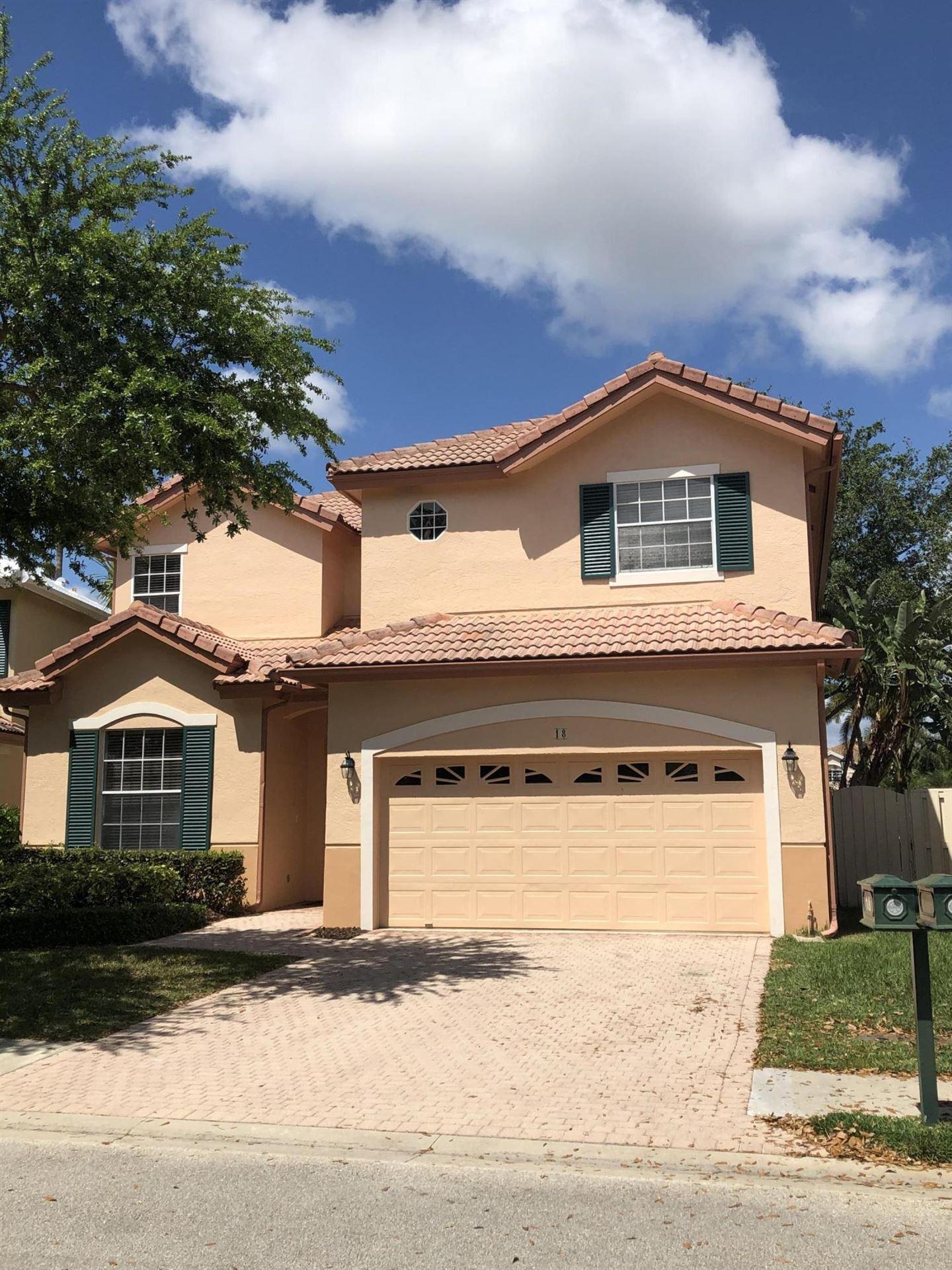 Photo of 18 Porta Vista Circle, Palm Beach Gardens, FL 33418 (MLS # RX-10609614)