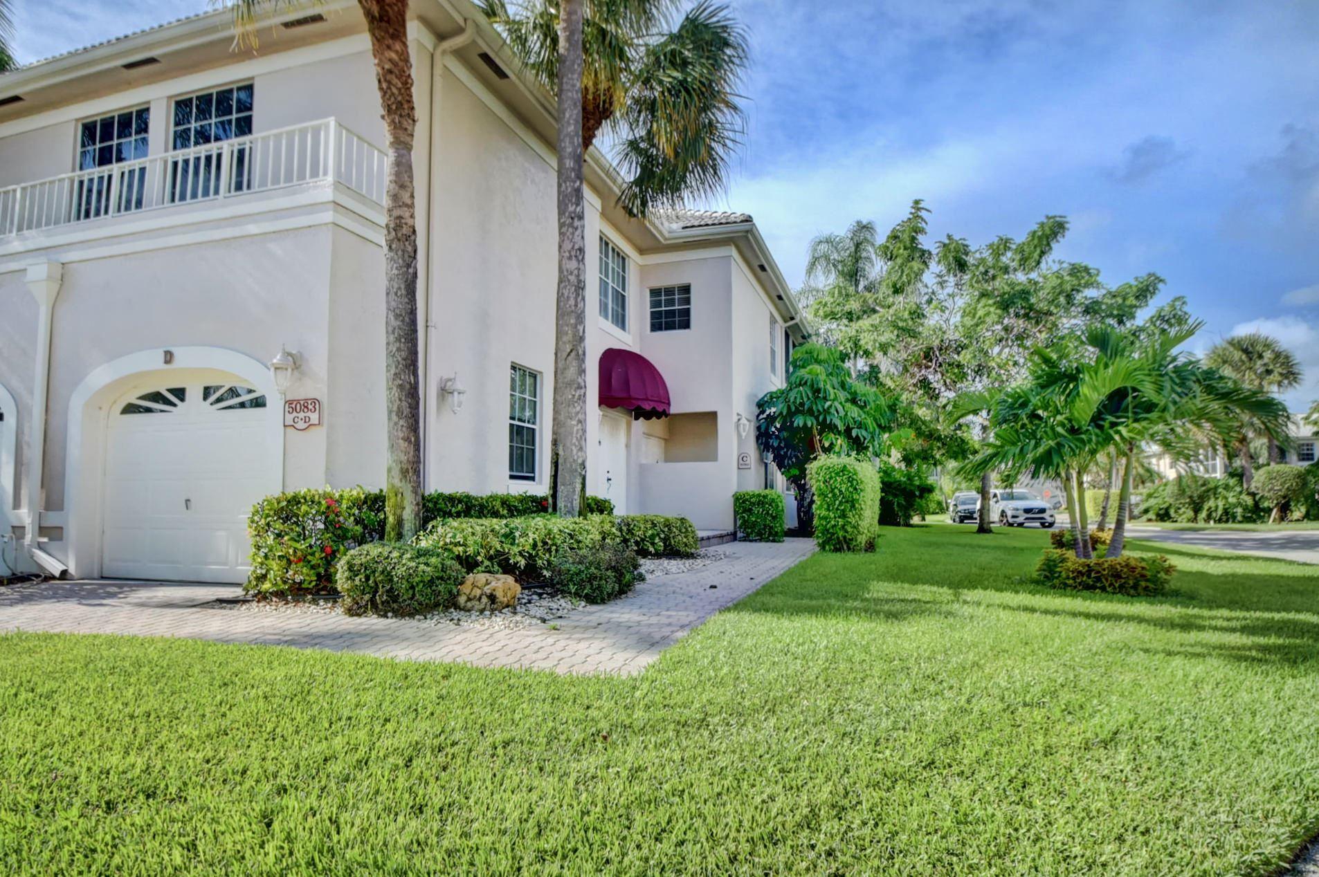 5083 Lake Catalina Drive #D, Boca Raton, FL 33496 - #: RX-10638614