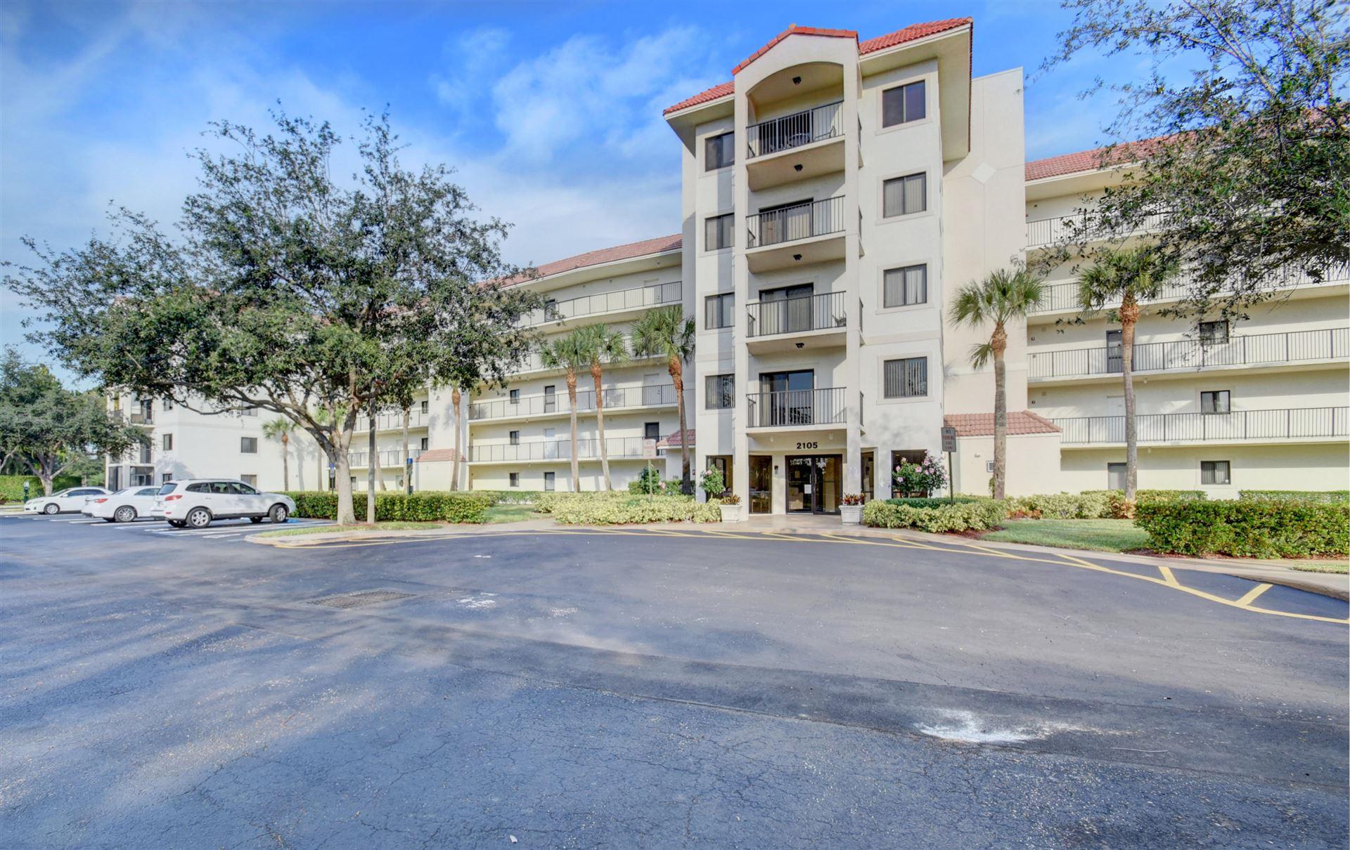 2105 Lavers Circle #109, Delray Beach, FL 33444 - #: RX-10646614