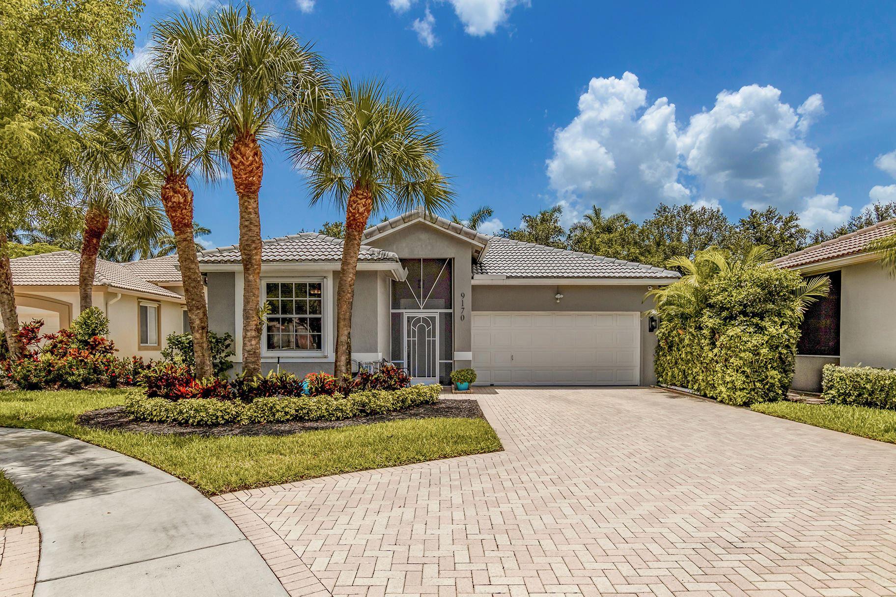 9170 Bay Point Circle, West Palm Beach, FL 33411 - #: RX-10634616