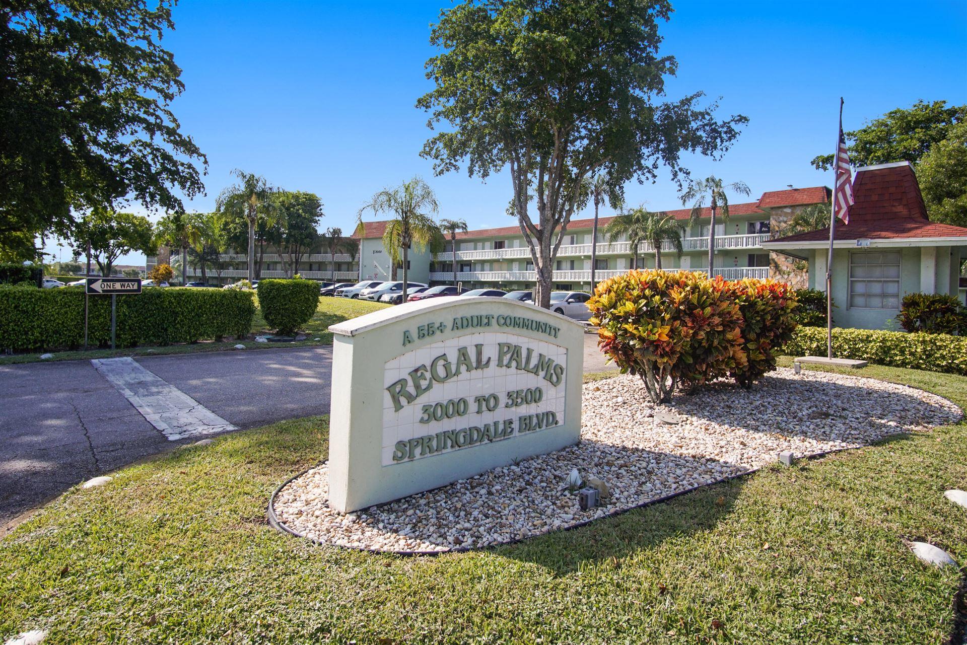 3400 Springdale Boulevard #303, Palm Springs, FL 33461 - MLS#: RX-10745616