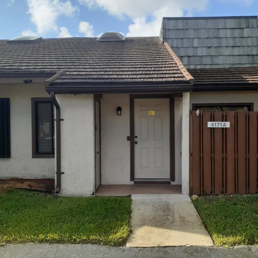 4171 Palm Bay Circle #A, West Palm Beach, FL 33406 - MLS#: RX-10750616