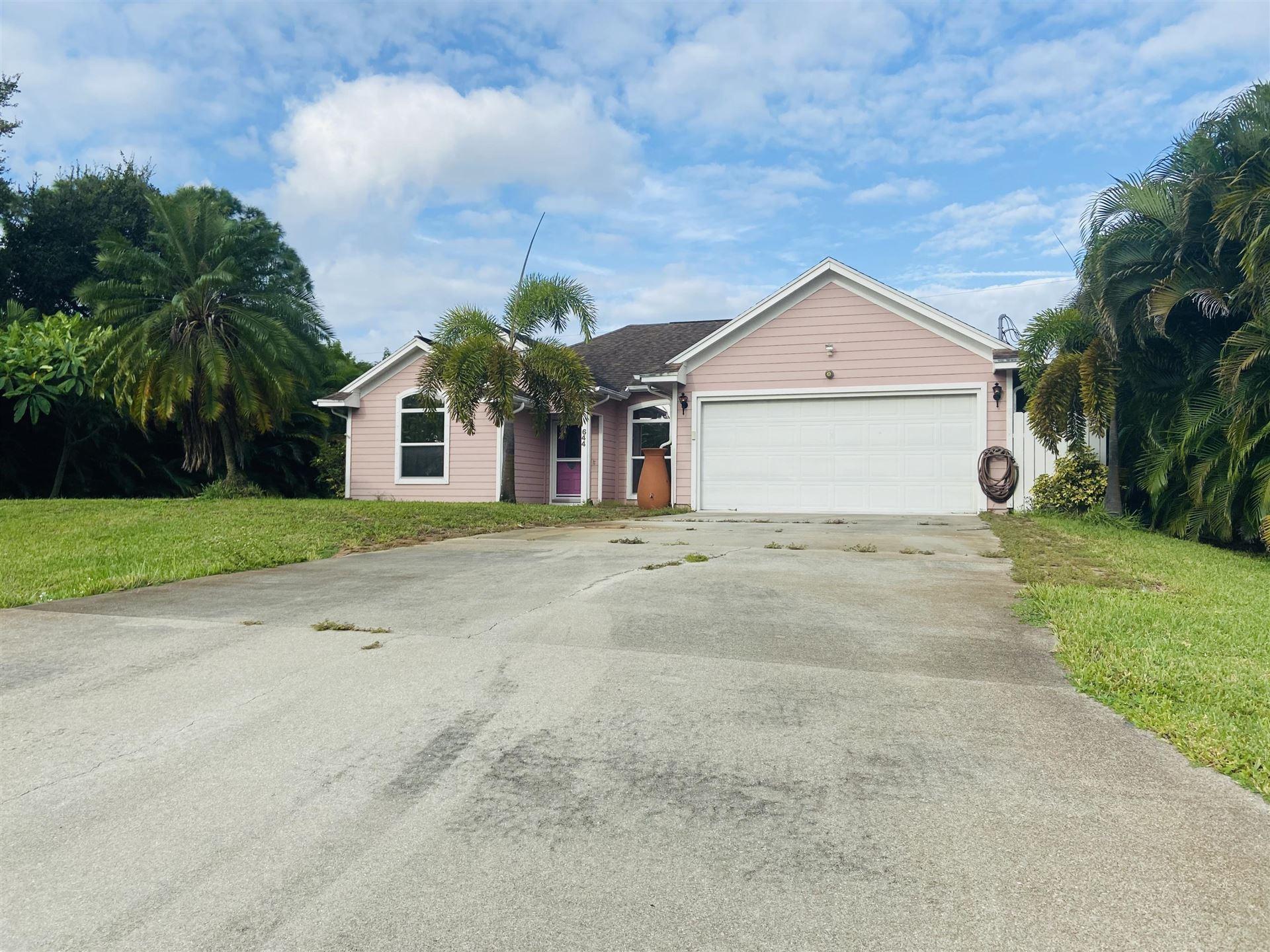 644 SW Granadeer Street, Port Saint Lucie, FL 34983 - #: RX-10657617