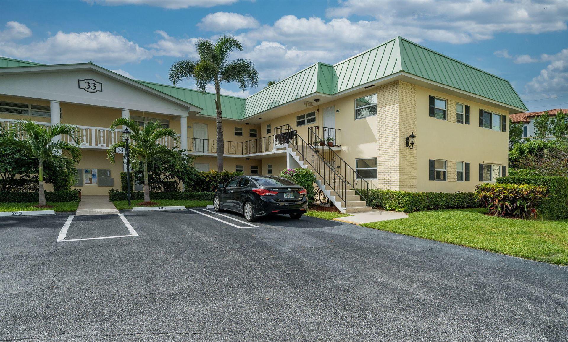 33 Colonial Club Drive #104, Boynton Beach, FL 33435 - #: RX-10730617