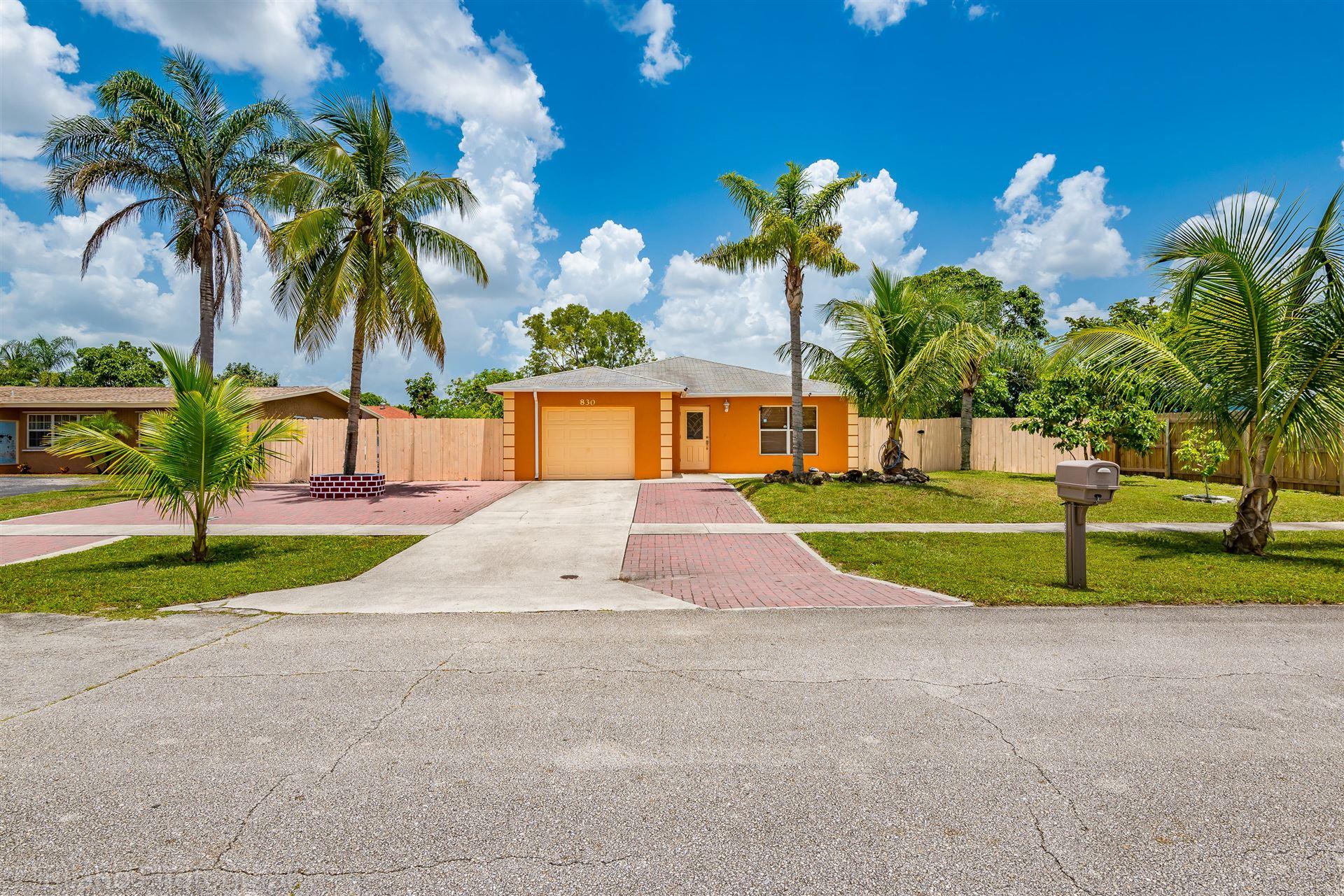 830 Azalea Drive, Royal Palm Beach, FL 33411 - #: RX-10632620