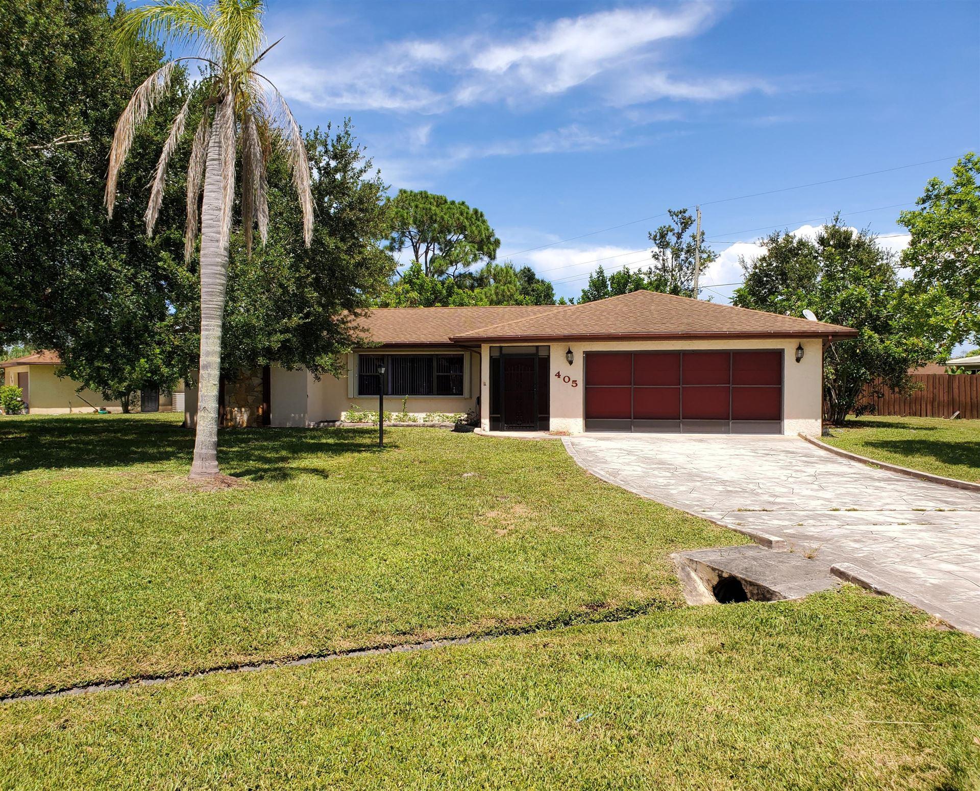 405 SE Seabreeze Lane, Port Saint Lucie, FL 34983 - #: RX-10639621