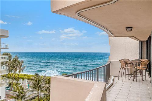 Photo of 4200 N Ocean Drive #1-605, Singer Island, FL 33404 (MLS # RX-10696622)