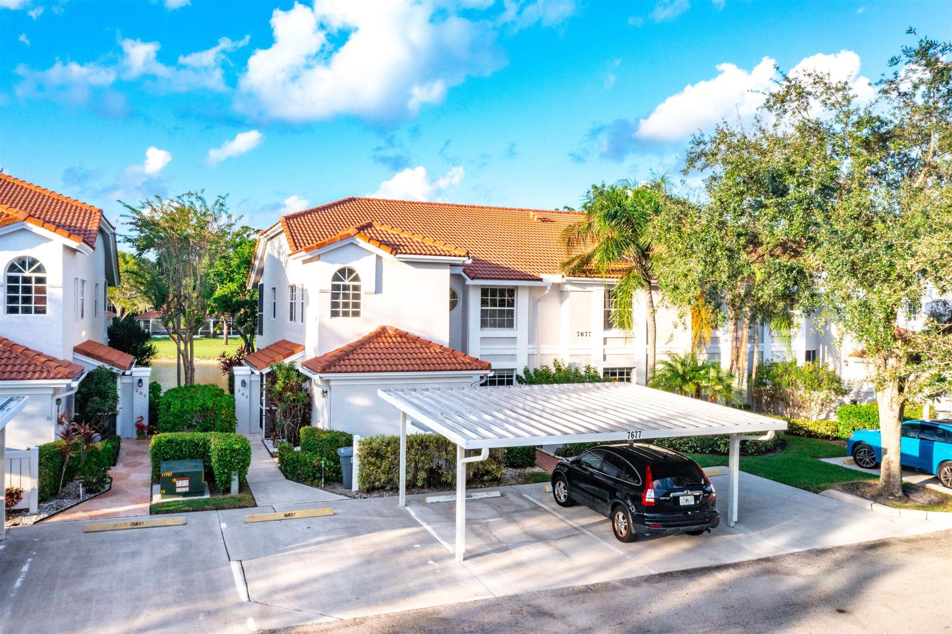 7677 Springwater 201 Place #201, Boynton Beach, FL 33437 - MLS#: RX-10753622